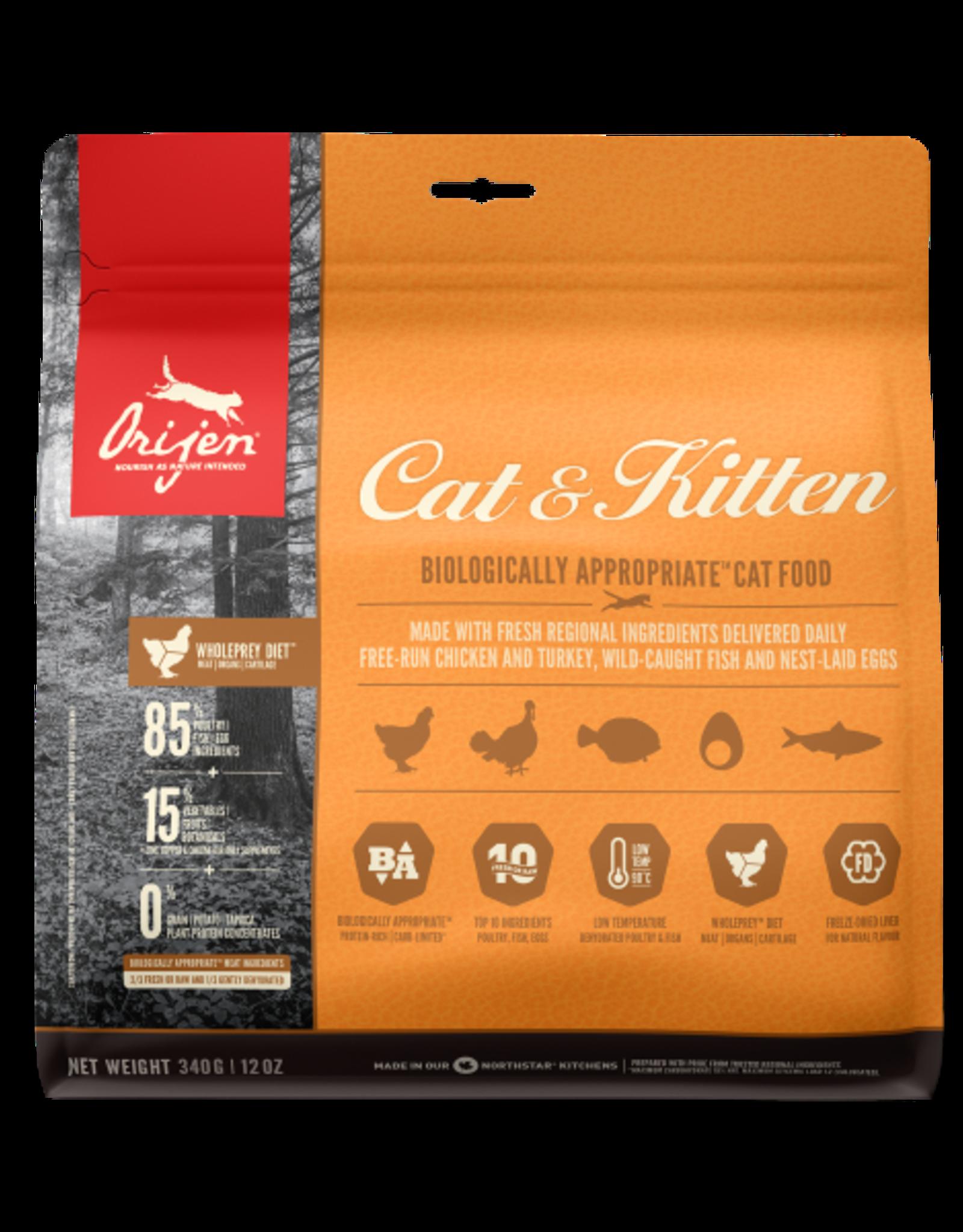 Orijen Orijen Cat & Kitten 340gm