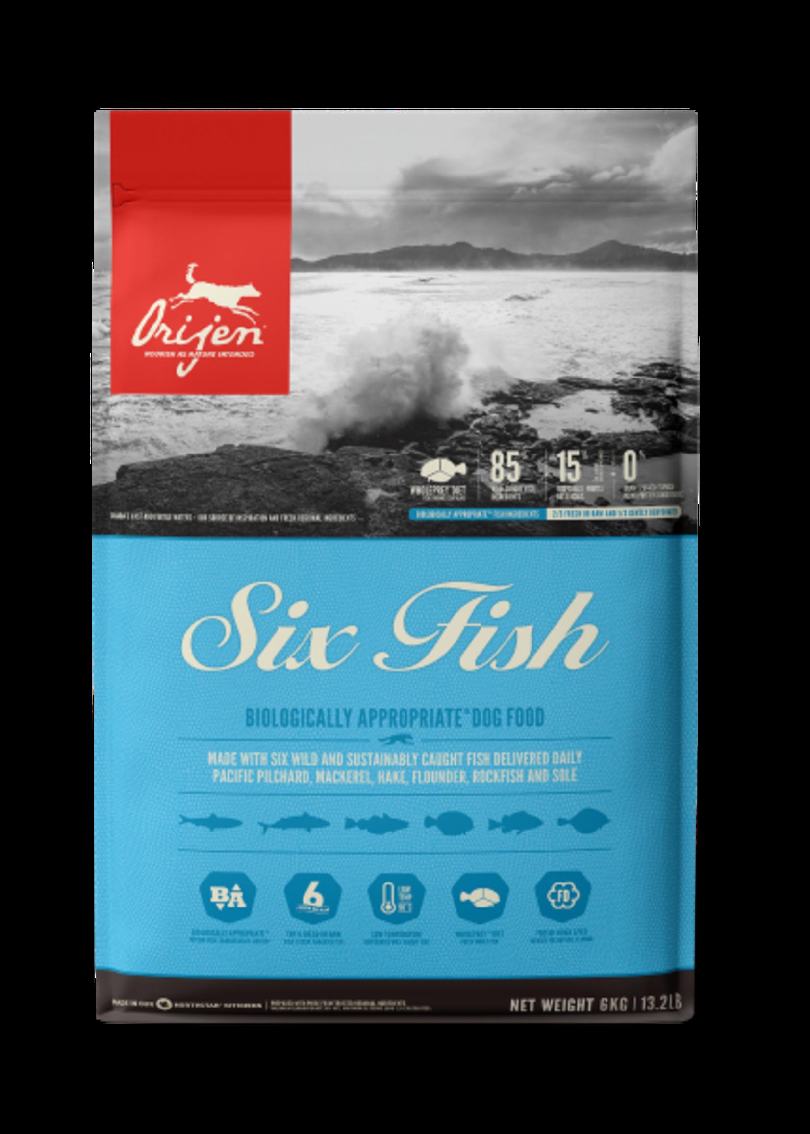 Orijen Orijen Dog Six Fish 6kg