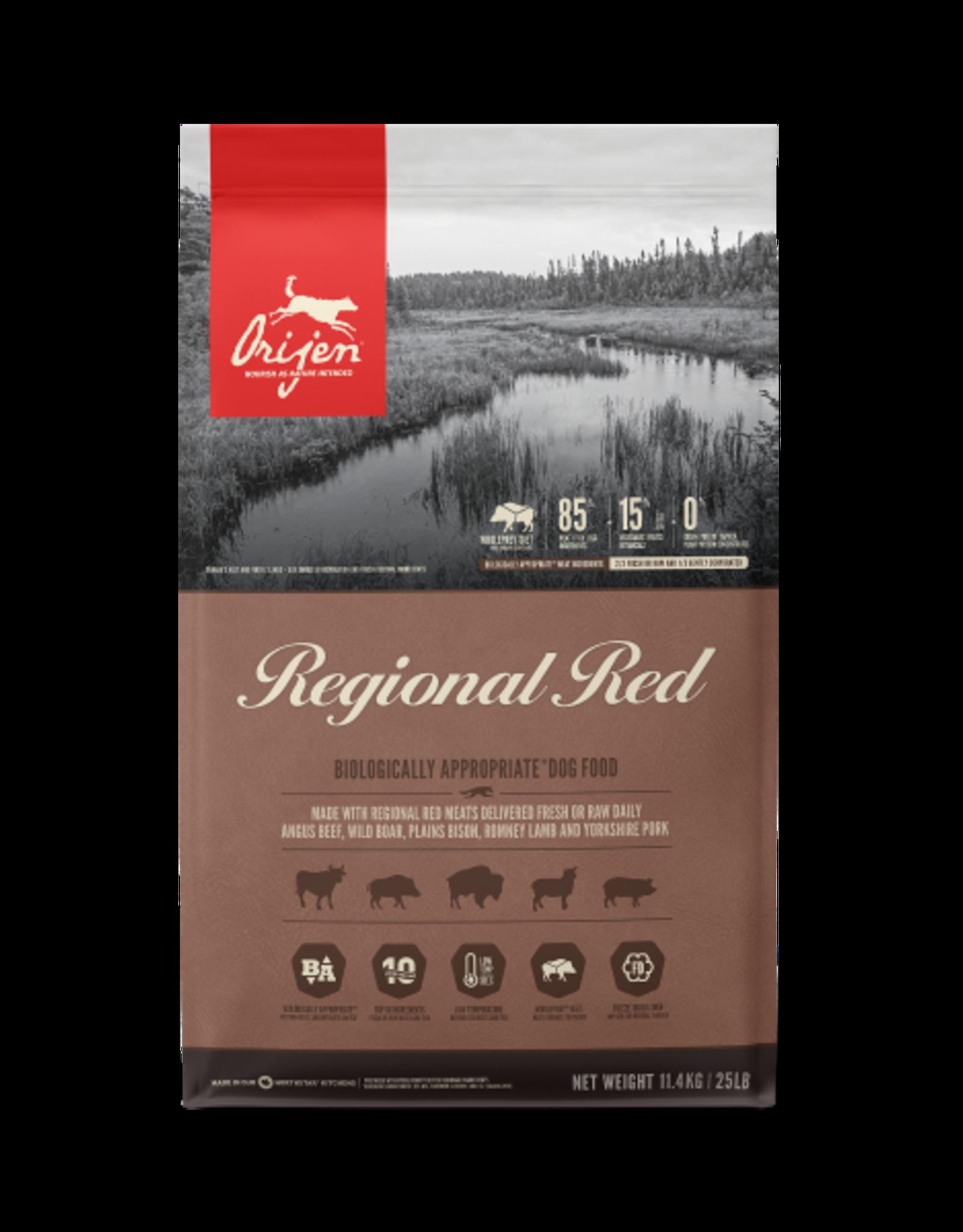 Orijen Orijen Dog Regional Red 11.4kg