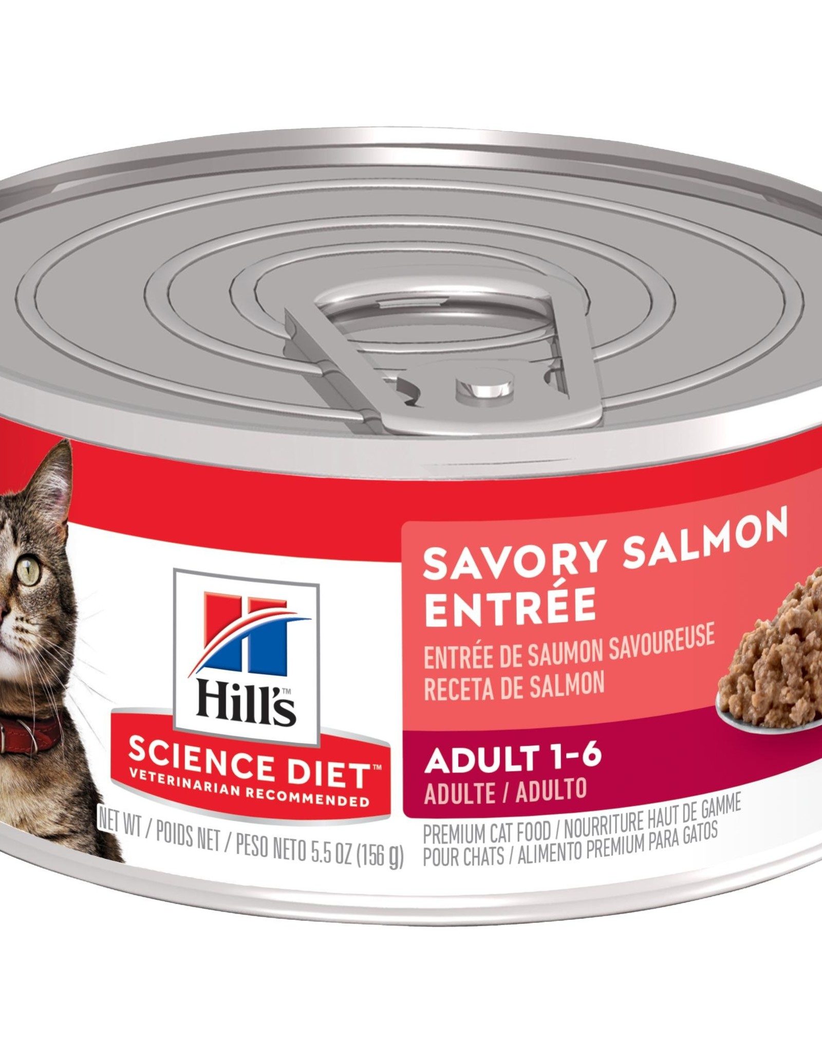 Hill's Science Diet Hill's Science Diet Feline Can Salmon 156g