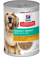 Hill's Science Diet Hill's Science Diet Canine Can Perfect Weight Chicken & Vegetable 363gm