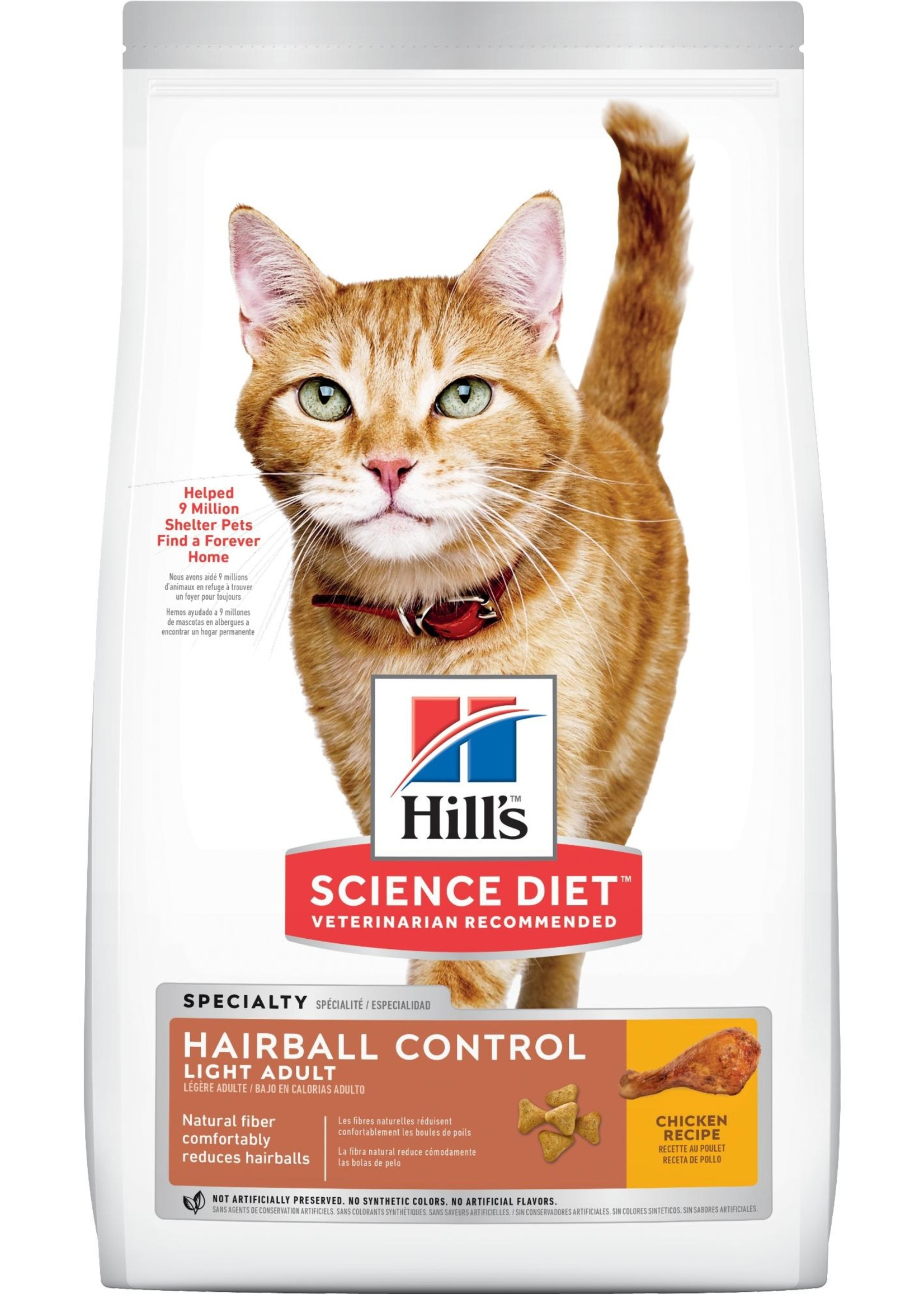 Hill's Science Diet Hill's Science Diet Feline Hairball Control Light 7lb