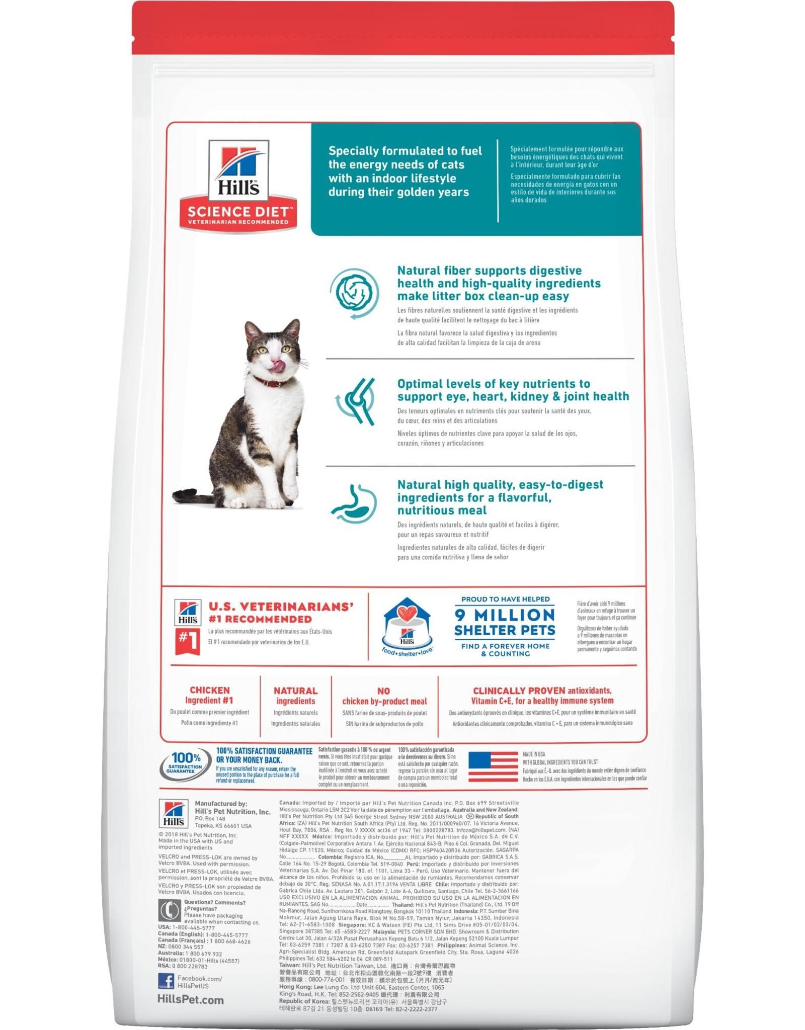 Hill's Science Diet Hill's Science Diet Feline Senior Indoor Age Defying 11+ 7lb