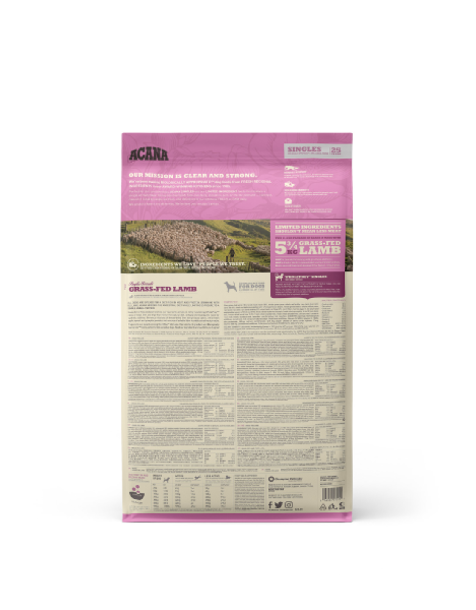Acana Acana Dog Singles Lamb + Apple 10.8kg