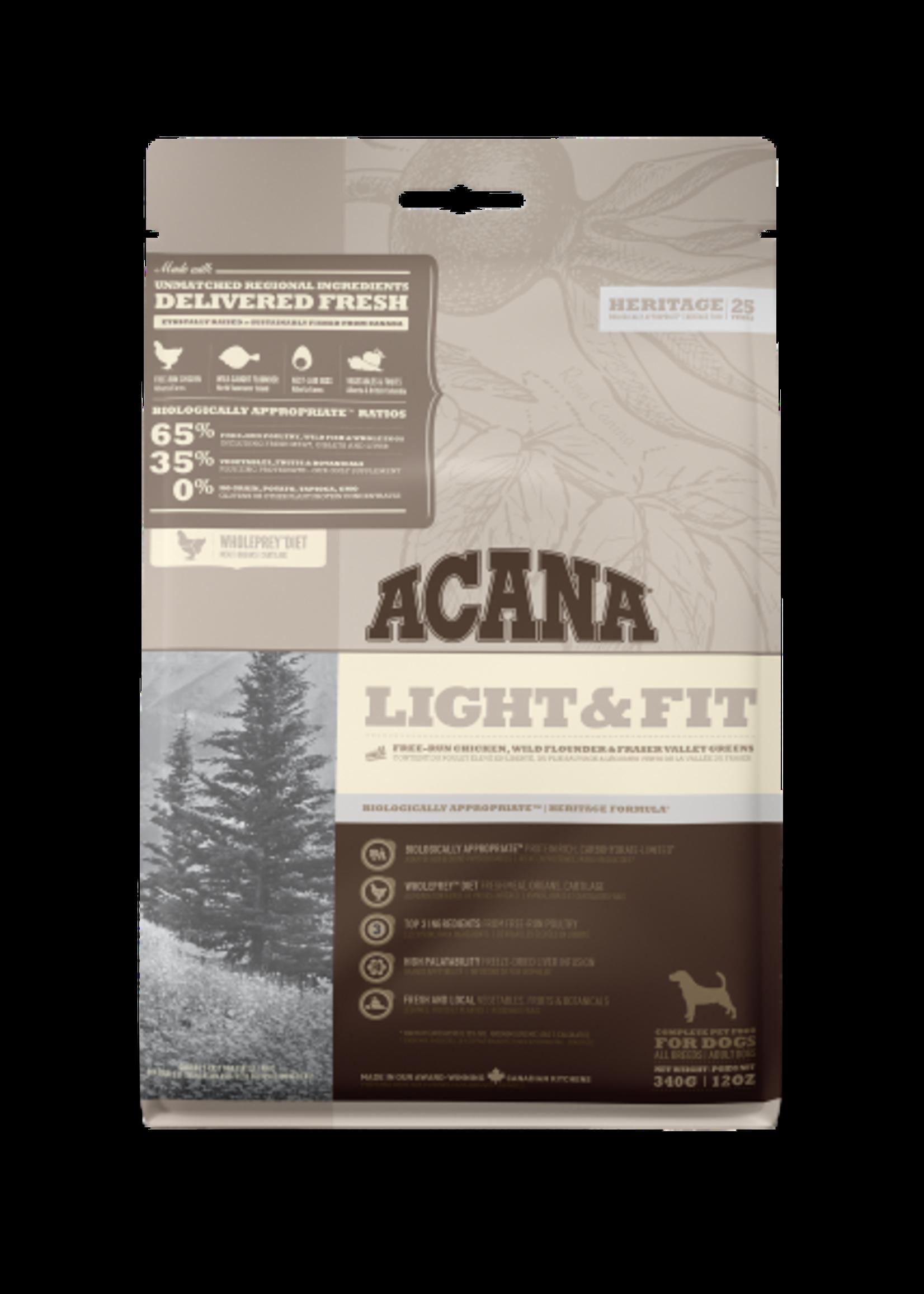 Acana® Acana Dog Heritage Light & Fit  340gm
