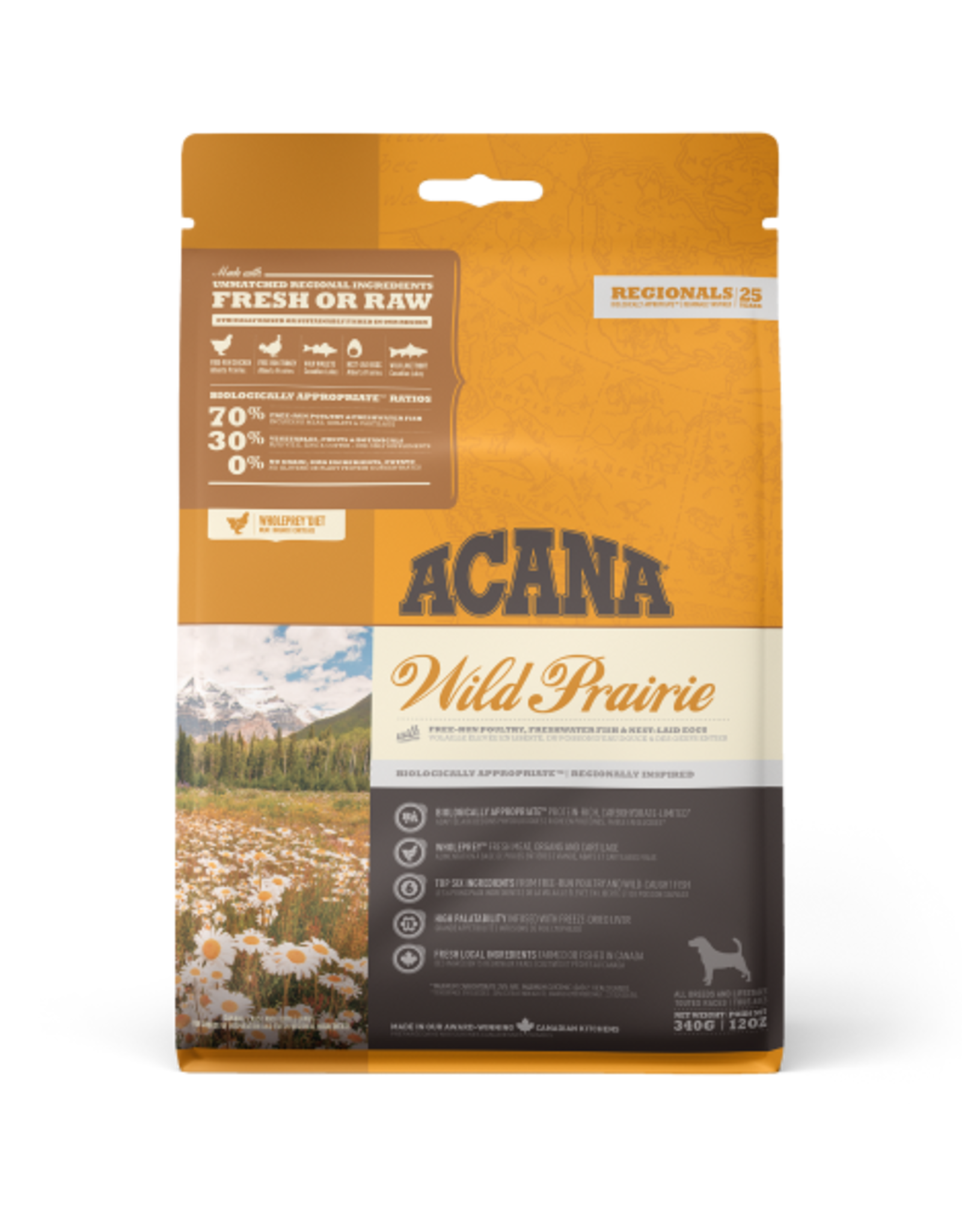 Acana Acana Dog Regionals Wild Prairie 340gm