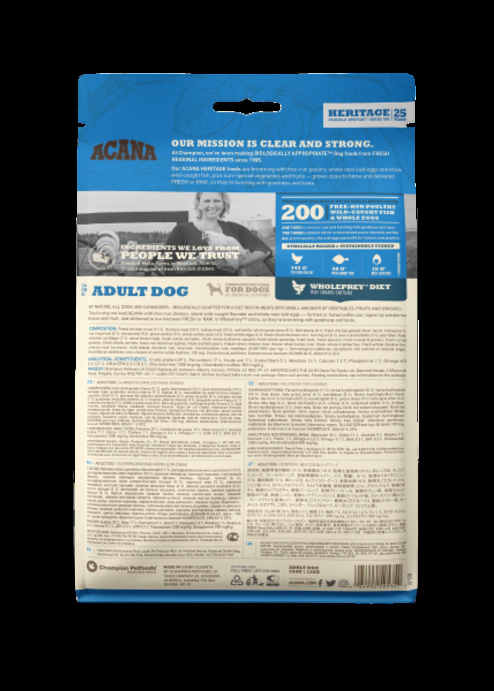 Acana® Acana Dog Heritage Adult 340gm