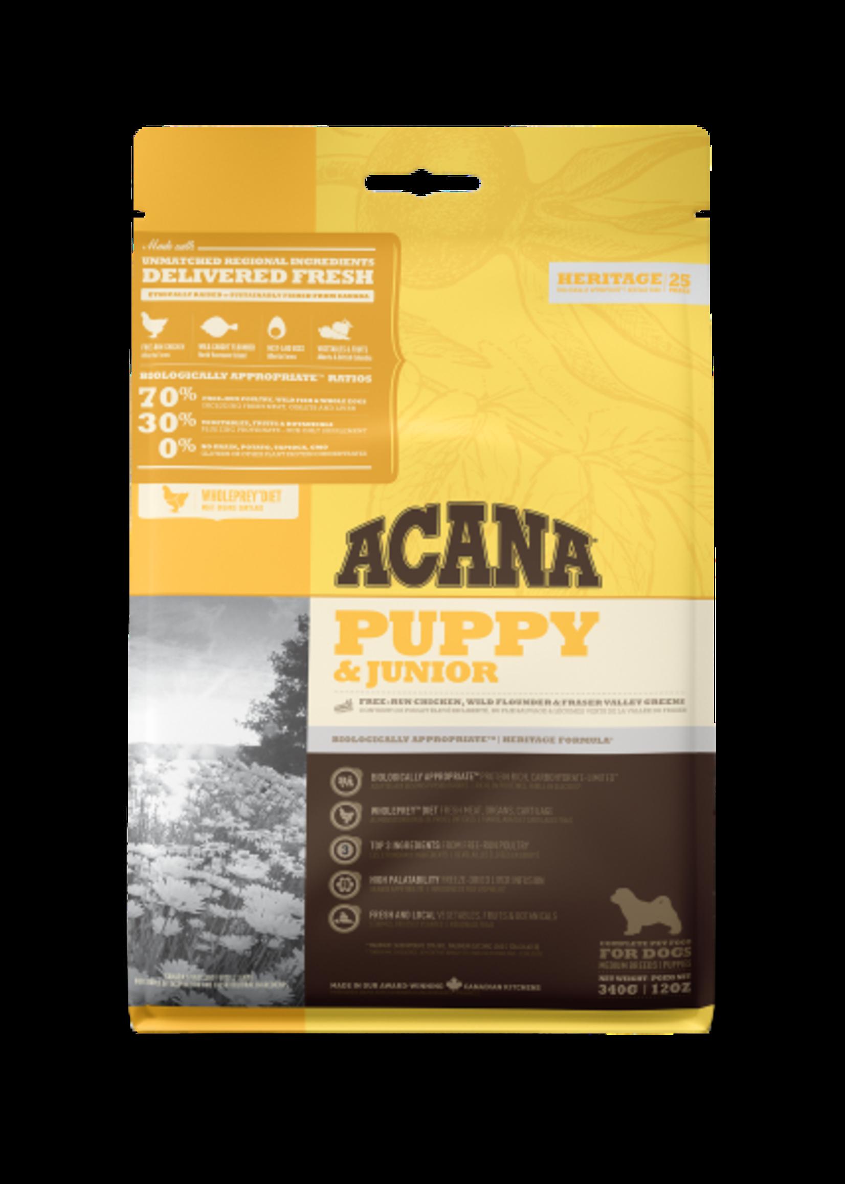 Acana® Acana Dog Heritage Puppy & Junior 340gm