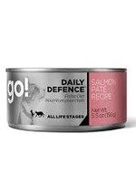 Petcurean Go Daily Defence Cat Salmon Pate Can 5.5oz