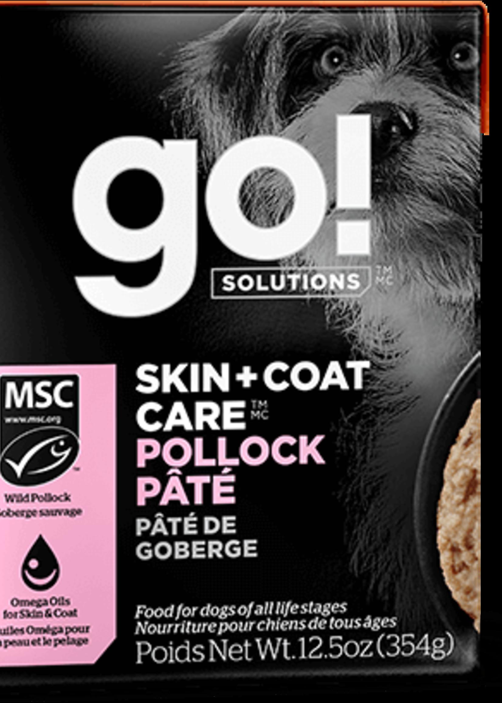 Petcurean GO Skin & Coat Pollock Pate Dog 12.5oz