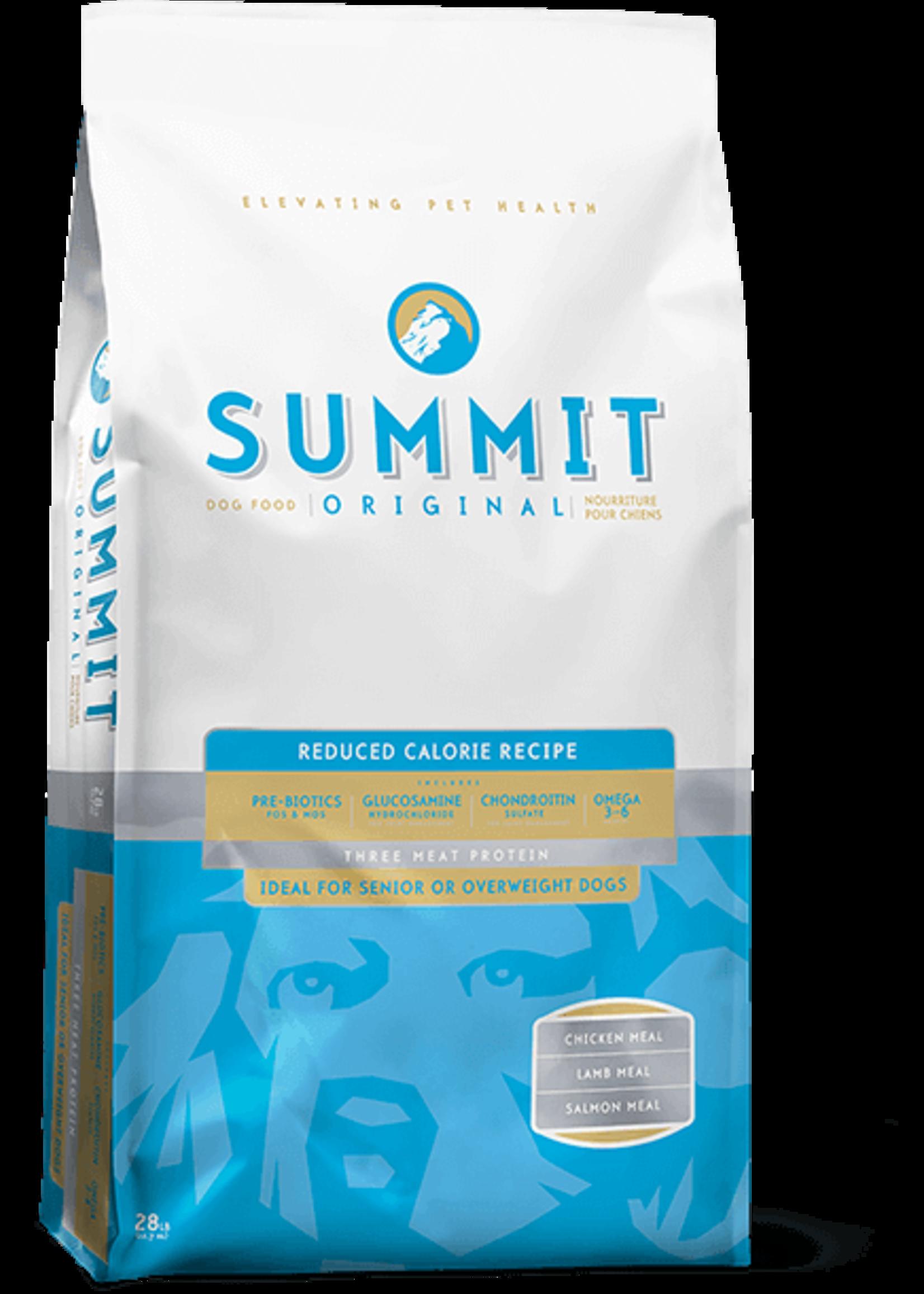Petcurean Summit Dog 3 Meat Reduced Calorie Light Blue 28 lb
