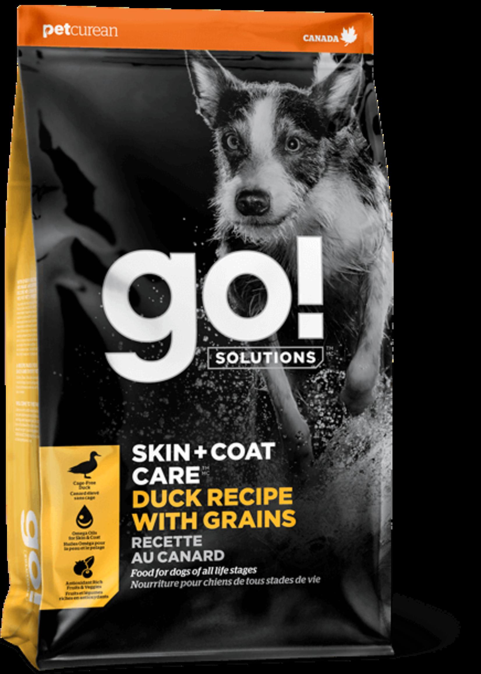 Petcurean Go Skin & Coat Duck With Grains 3.5lb Dog