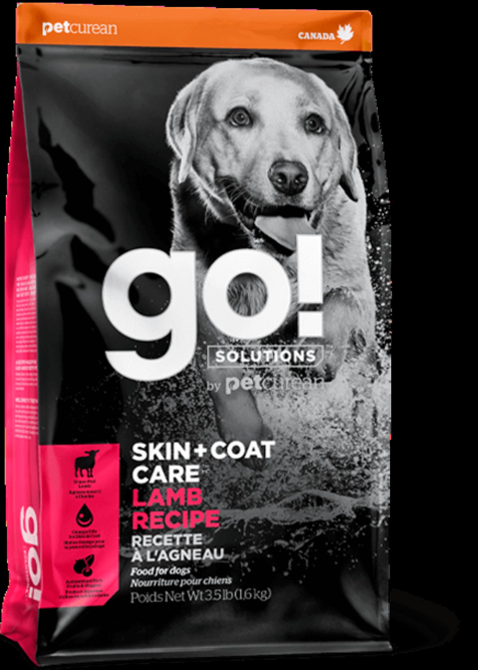 Petcurean Go Skin & Coat Lamb With Grains 3.5lb Dog
