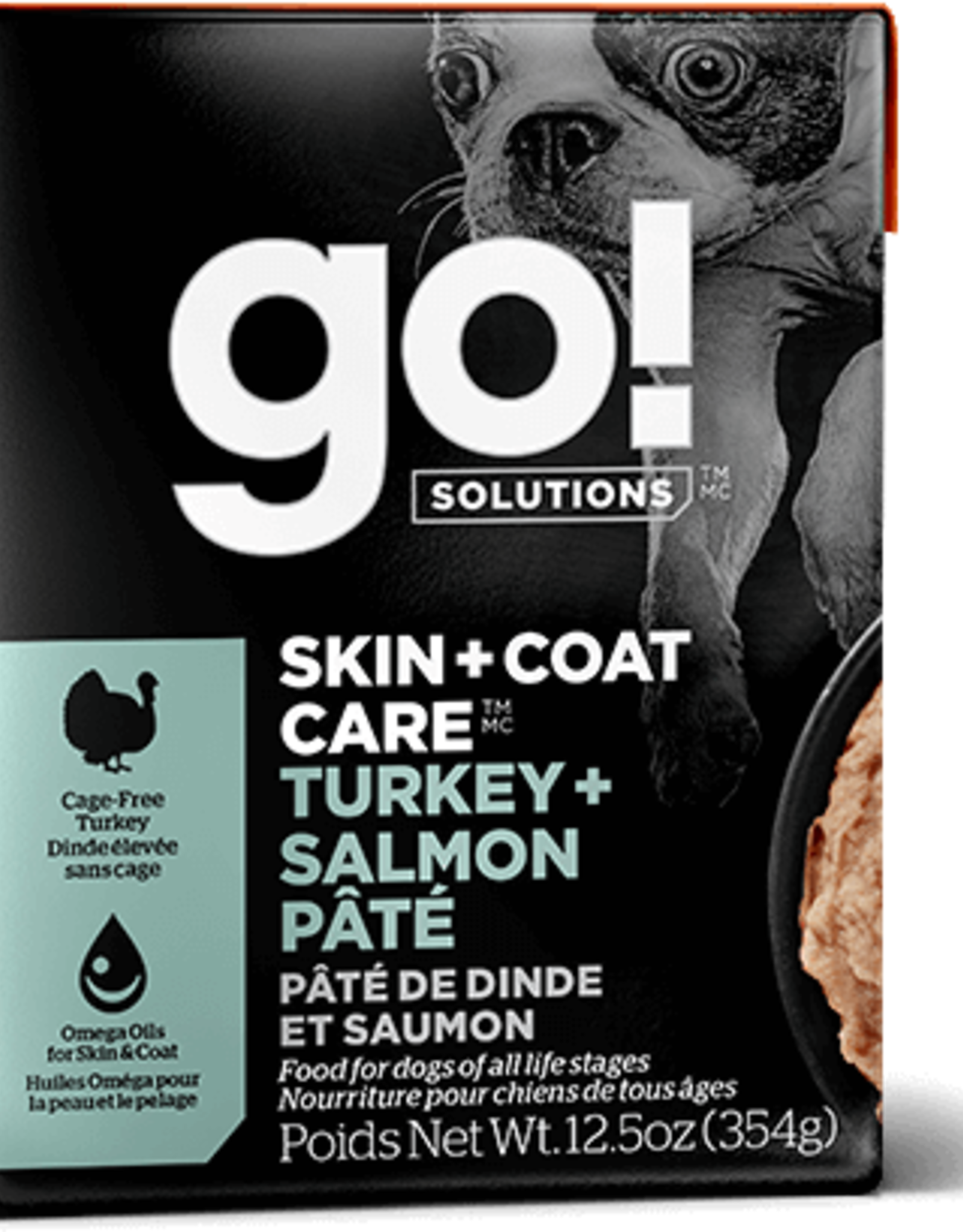 Petcurean GO Skin & Coat Turkey Salmon Dog 12.5oz