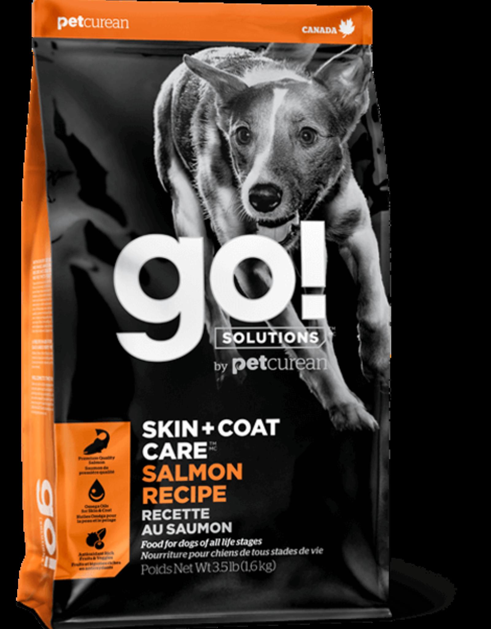 Petcurean Go Skin & Coat Salmon 3.5lb Dog