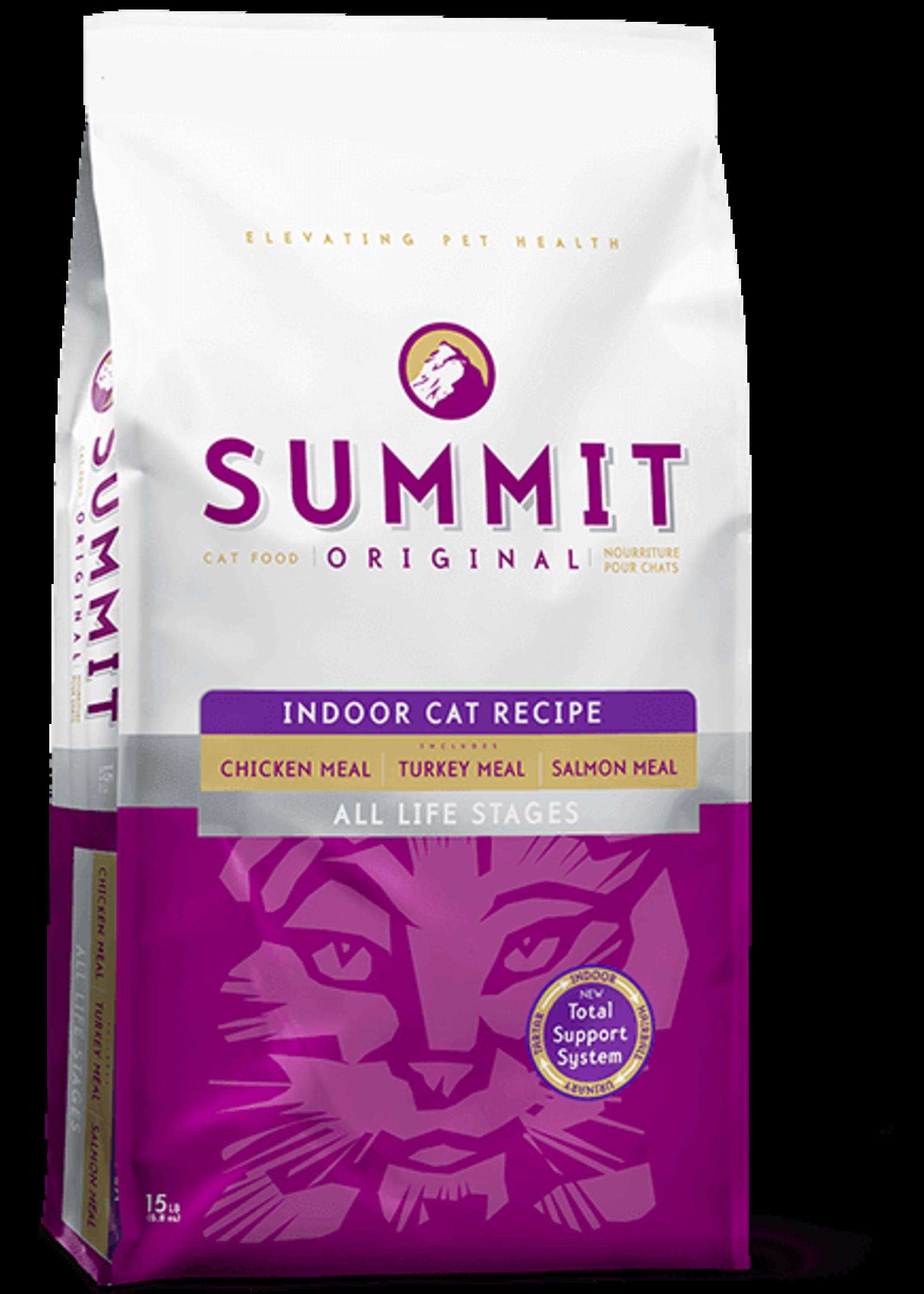 Petcurean Summit Cat Indoor 3 Meat 15lb