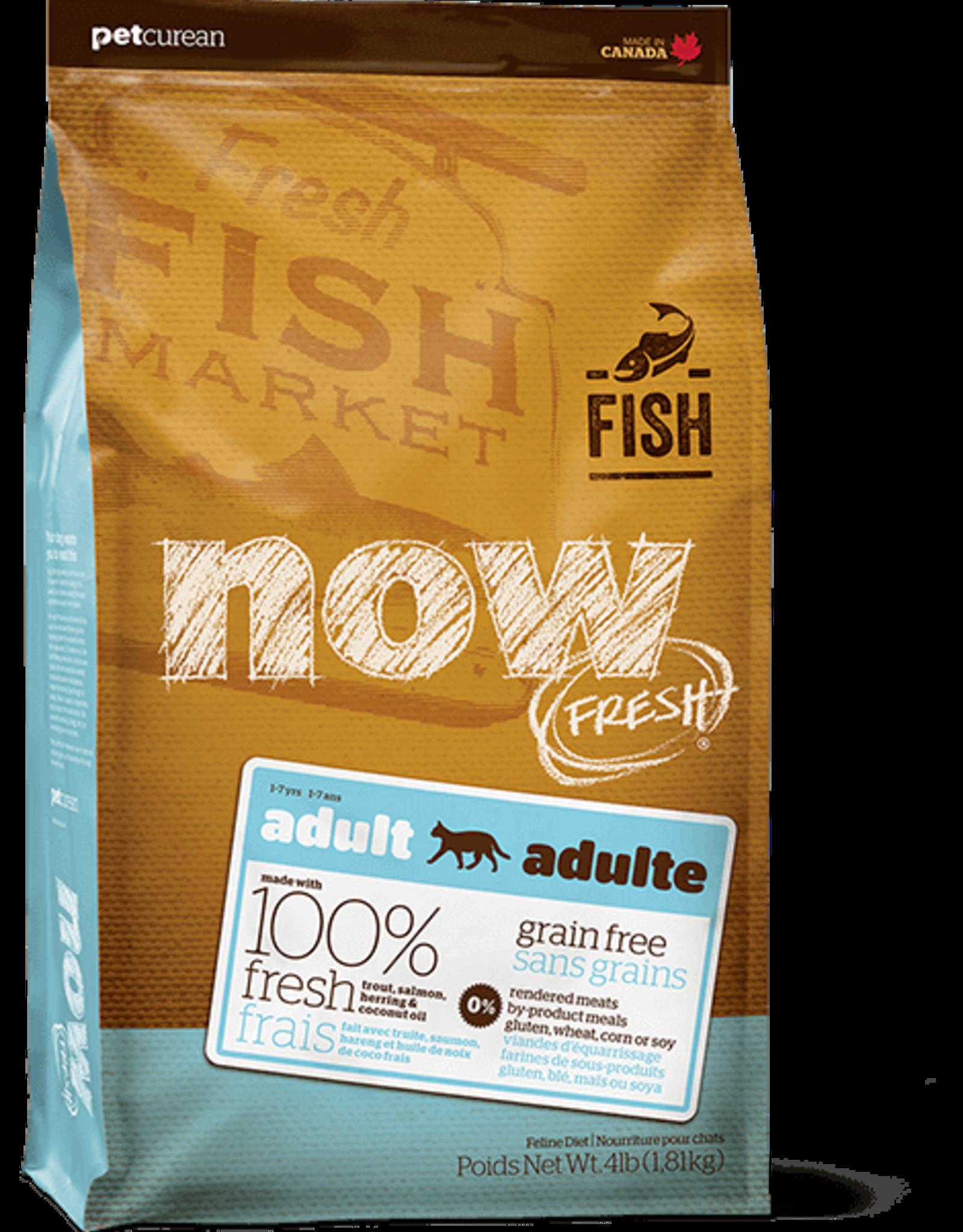 Petcurean Now Fresh Grain Free Cat Fish 4lb