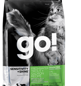 Petcurean Go Sensitivity+Shine Cat Grain Free Trout Salmon 8lb