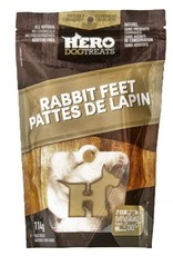Big Country Raw Hero Rabbit Feet 114g