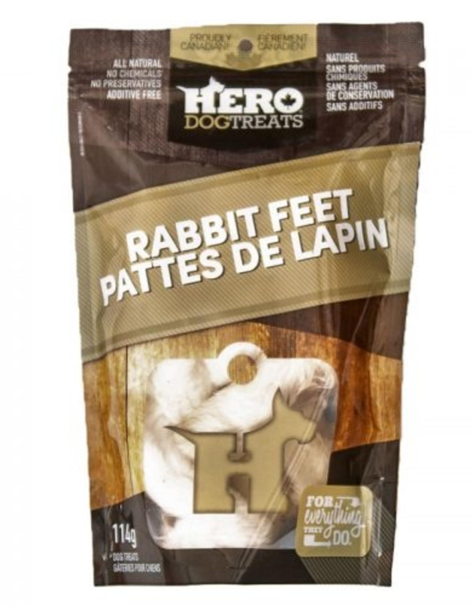 Big Country Raw Hero Rabbit Feet 114g