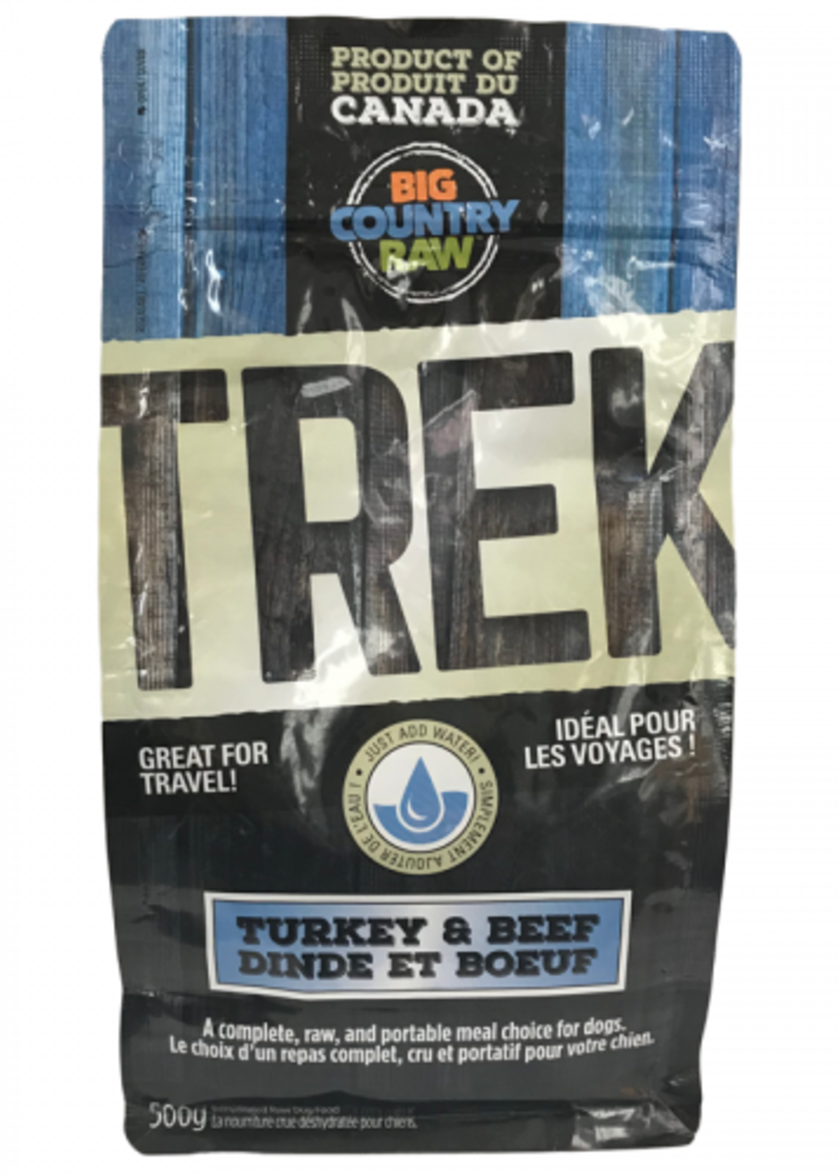 Big Country Raw Big Country Raw Trek Turkey Beef 500g