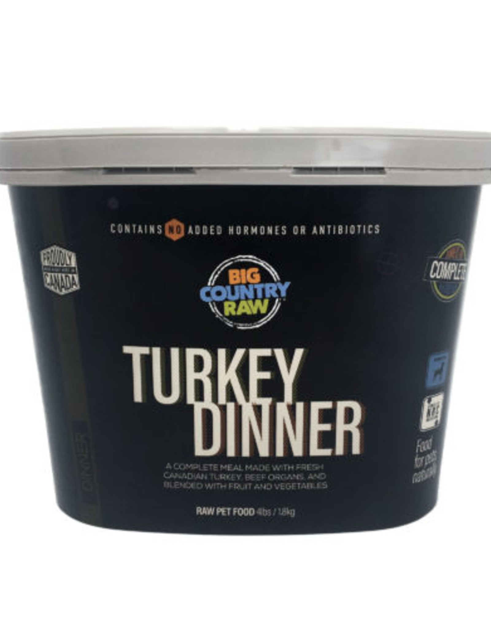 Big Country Raw Big Country Raw Turkey Dinner Tub 4lbs