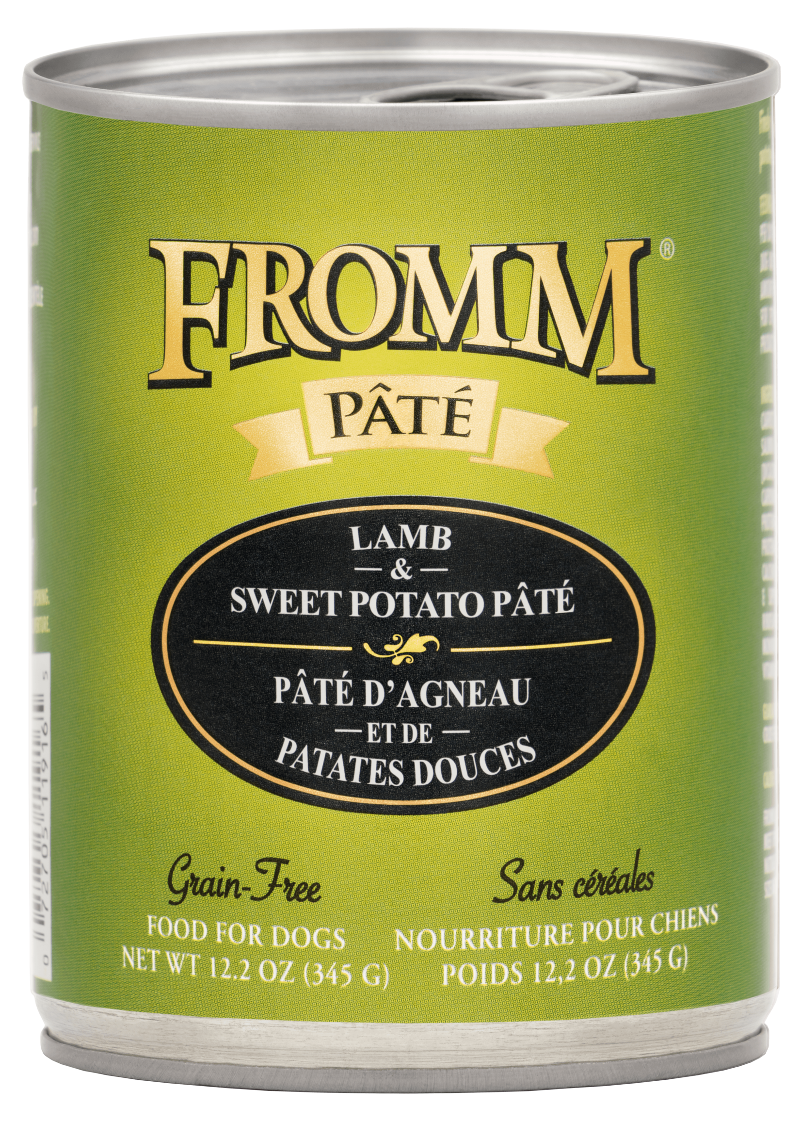 FROMM Fromm Dog Grain-Free Lamb & Sweet Potato Pâté 12.2oz