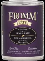 FROMM Fromm Dog Venison & Lentil Pate 12.2oz