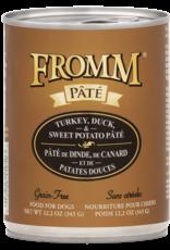 FROMM Fromm Dog Turkey, Duck & Sweet Potato Pate 12.2oz