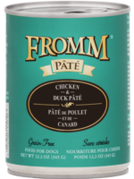 FROMM Fromm Dog Chicken & Duck Pate 12.2oz