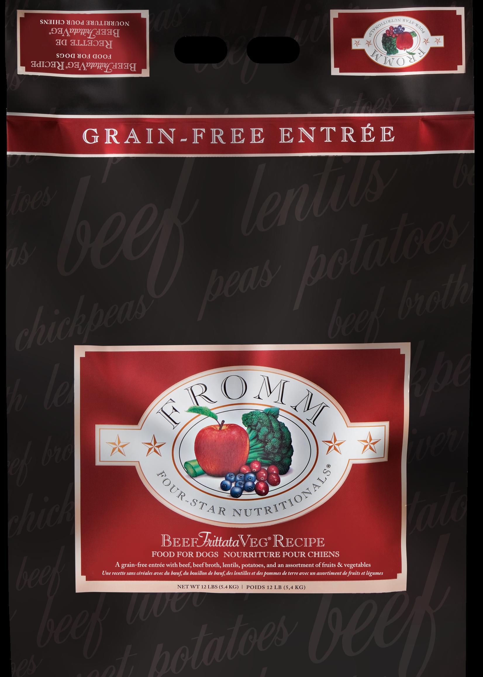 FROMM Fromm Dog Beef Frittata Veg Recipe 12lb