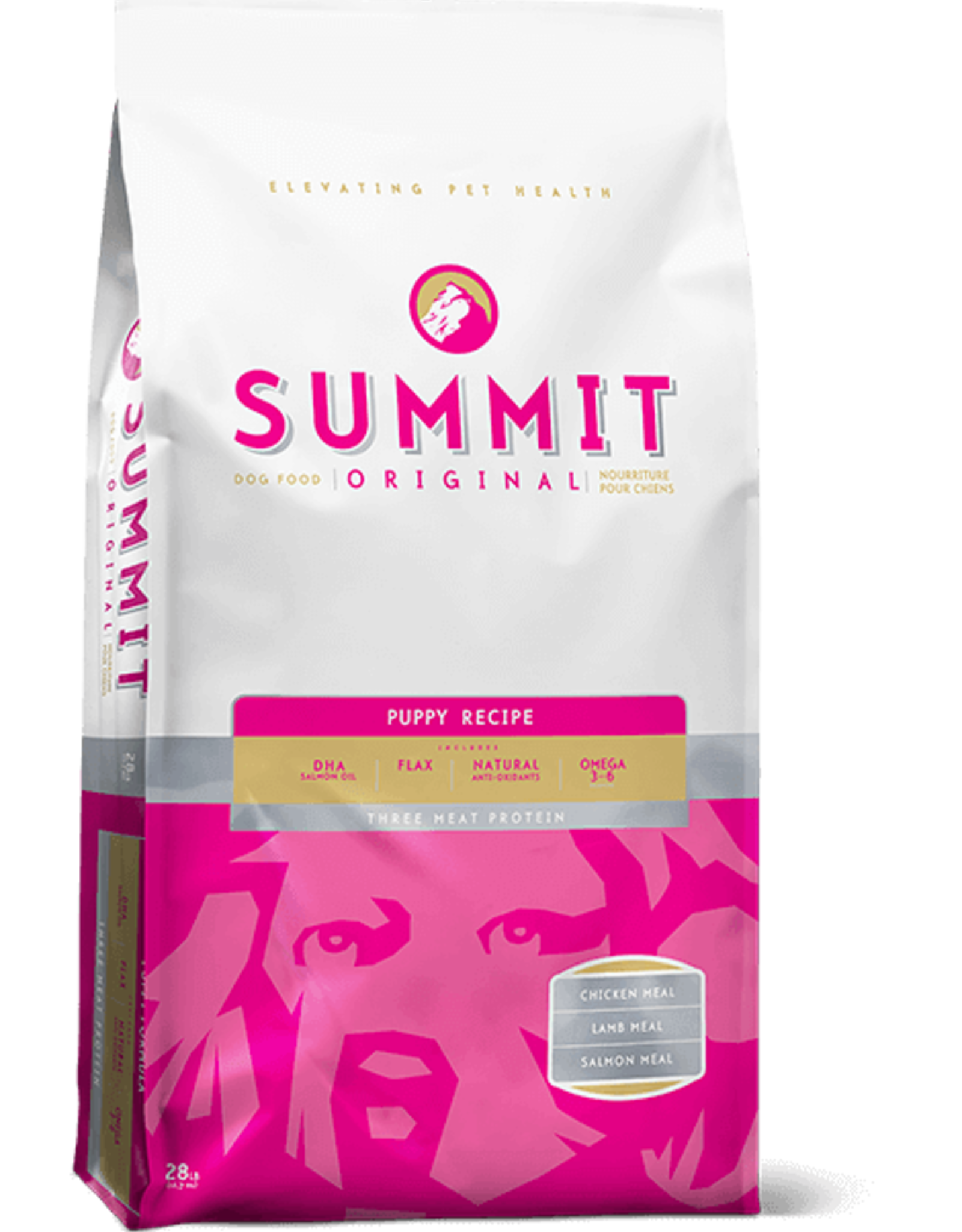 Petcurean Summit Puppy 3 Meat Food Pink 28lb