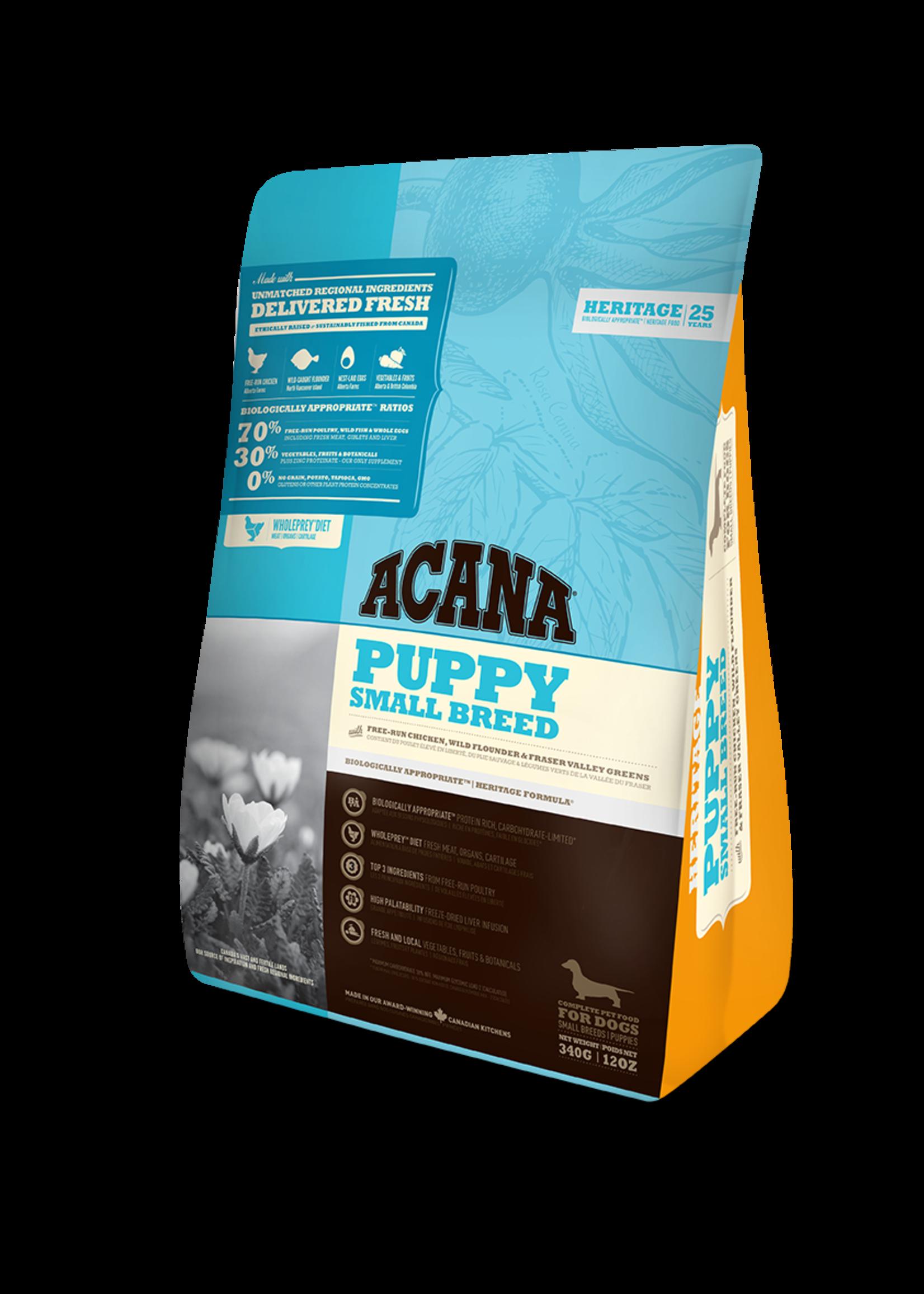 Acana® Acana Dog Heritage Puppy Small Breed 340gm