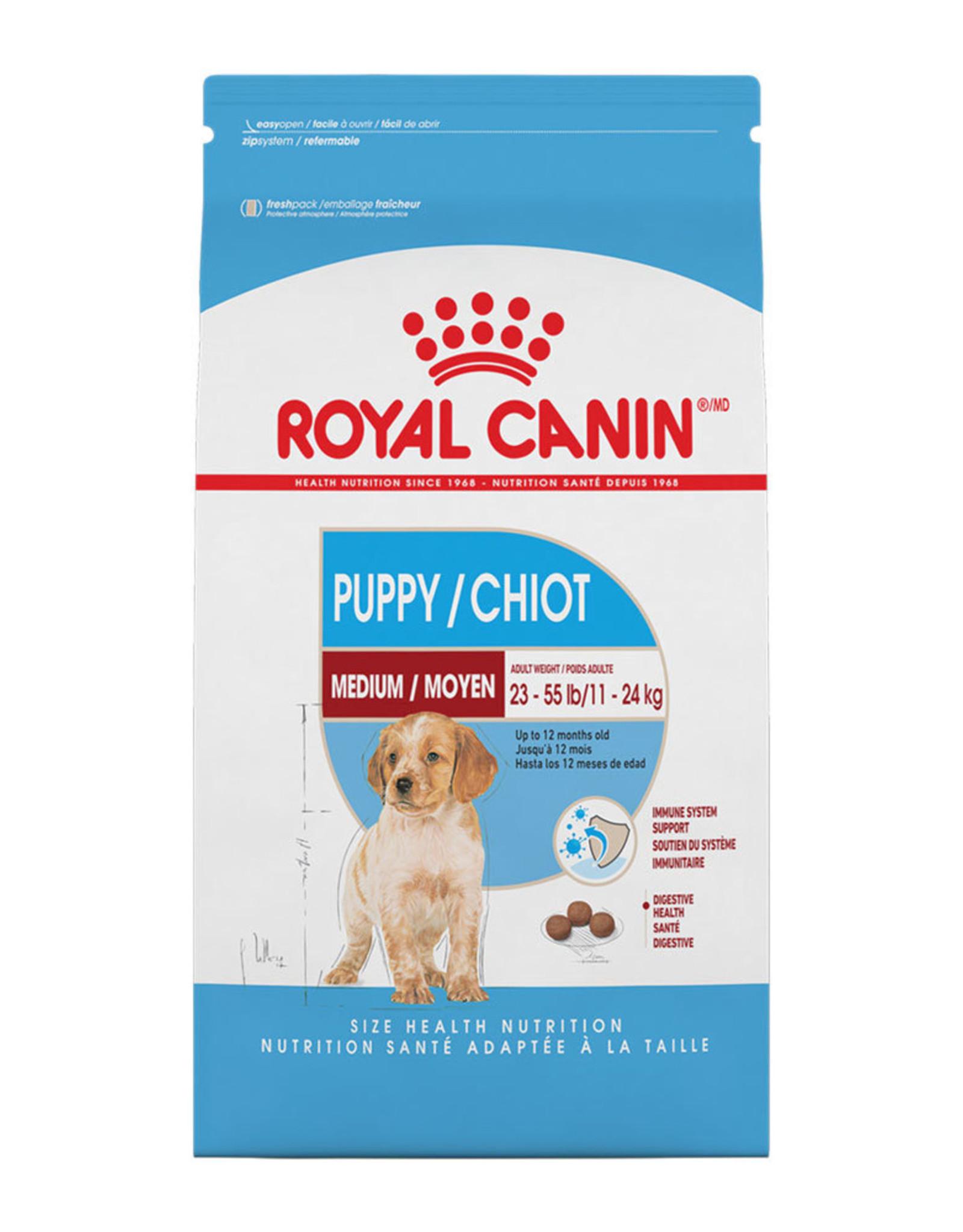 Royal Canin Royal Canin Dog Medium Puppy 30lb