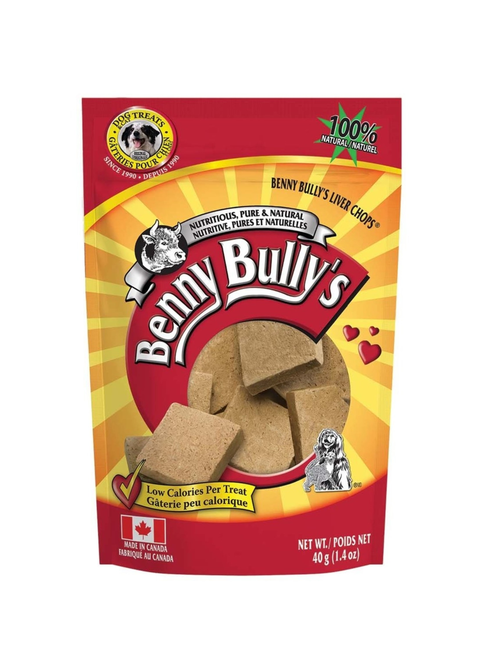 Benny Bullys Liver Chops 40gm