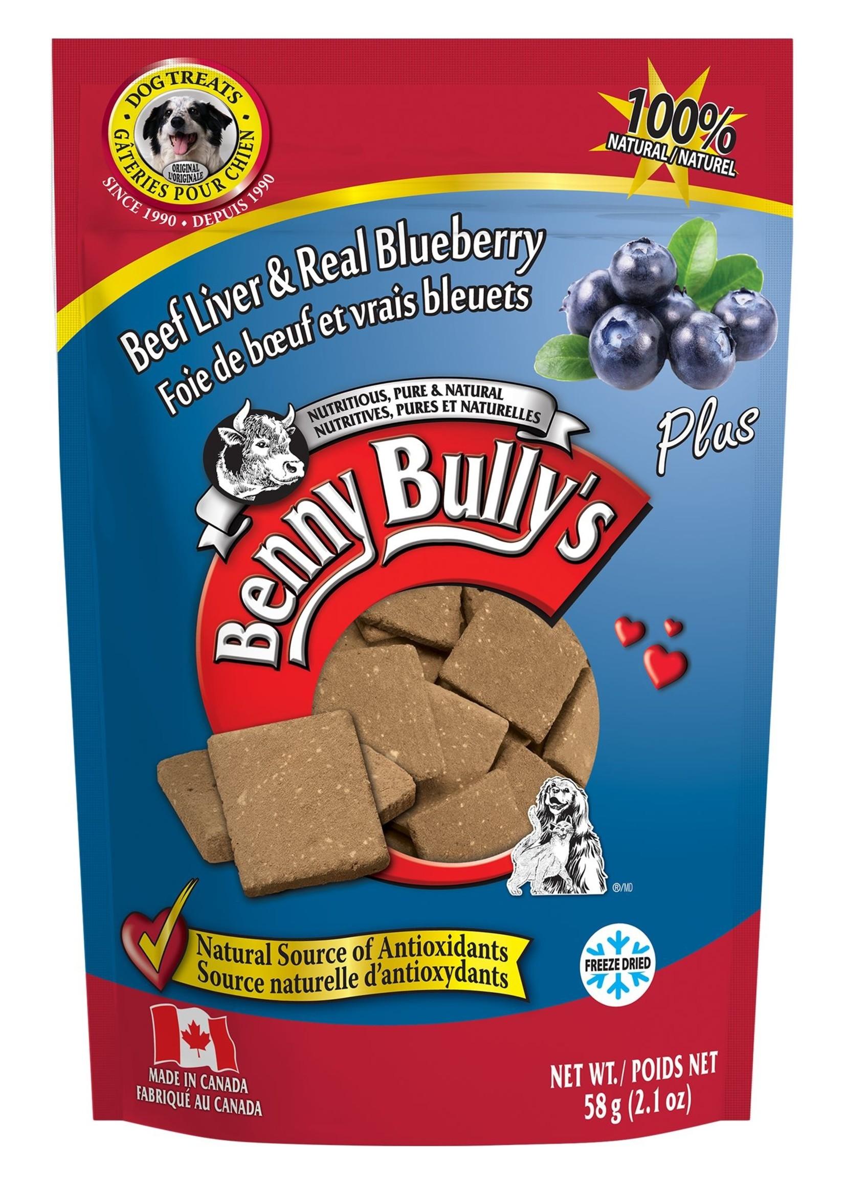 Benny Bully Liver Blueberry 58g