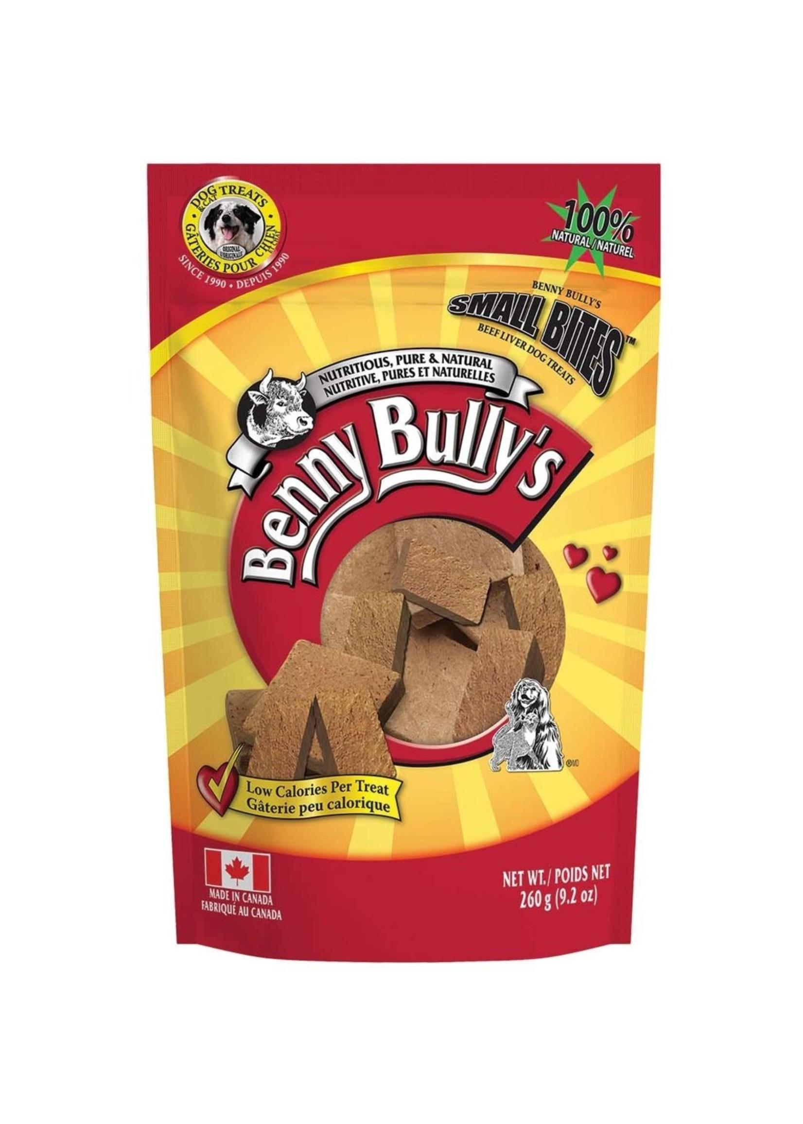 Benny Bullys Small Bites Liver Chops 260 g