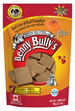 Benny Bully's Beef Liver with Pumpkin  58gm.