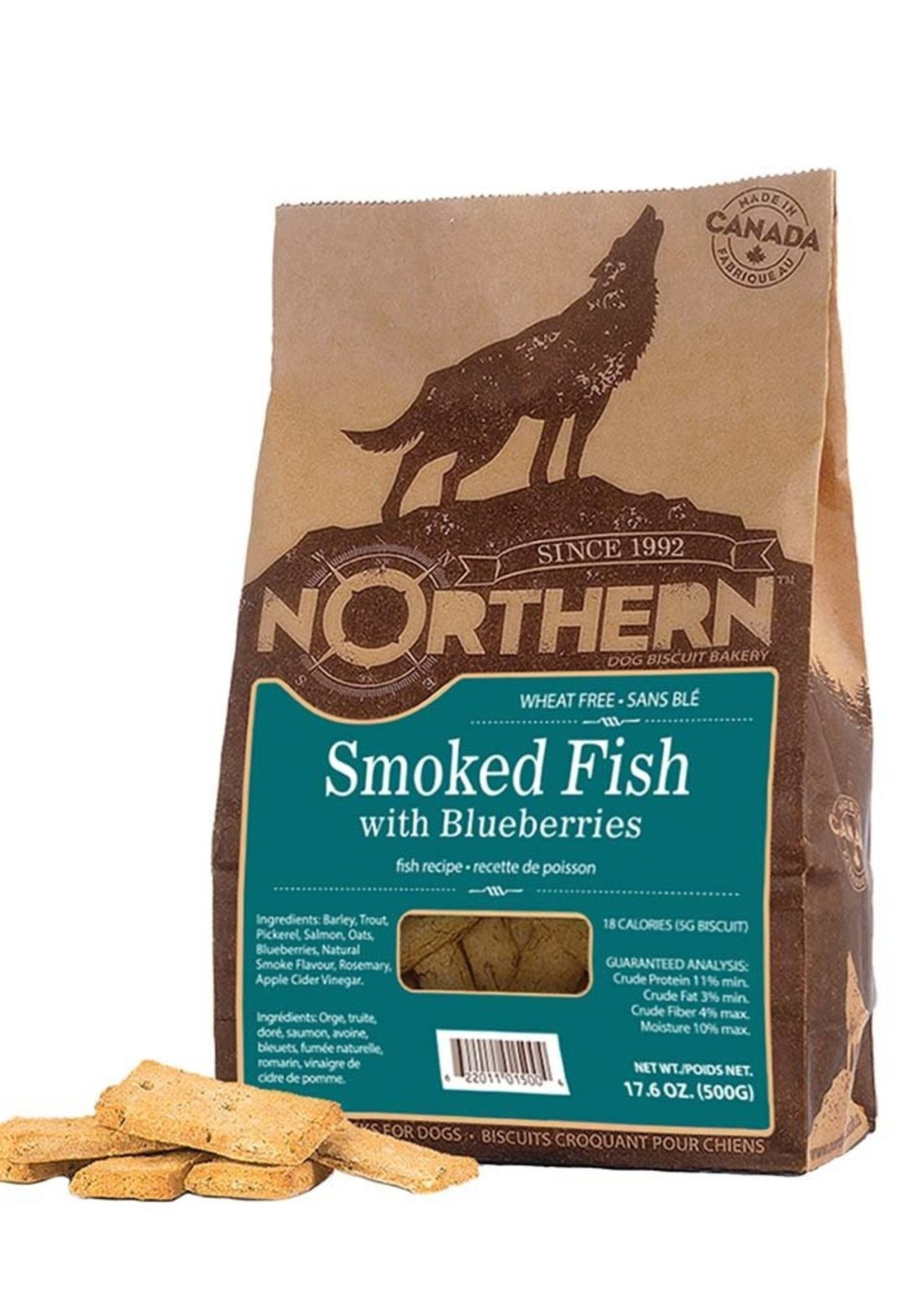 Northern Biscuit Smoked Fish with Blueberries 500g Single