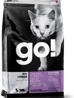 Petcurean Go Fit+Free Cat Grain Free Chicken Turkey Duck 4lb