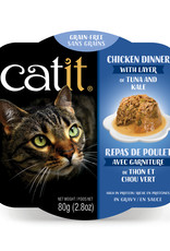 Catit Dinner Chicken with Tuna & Kale