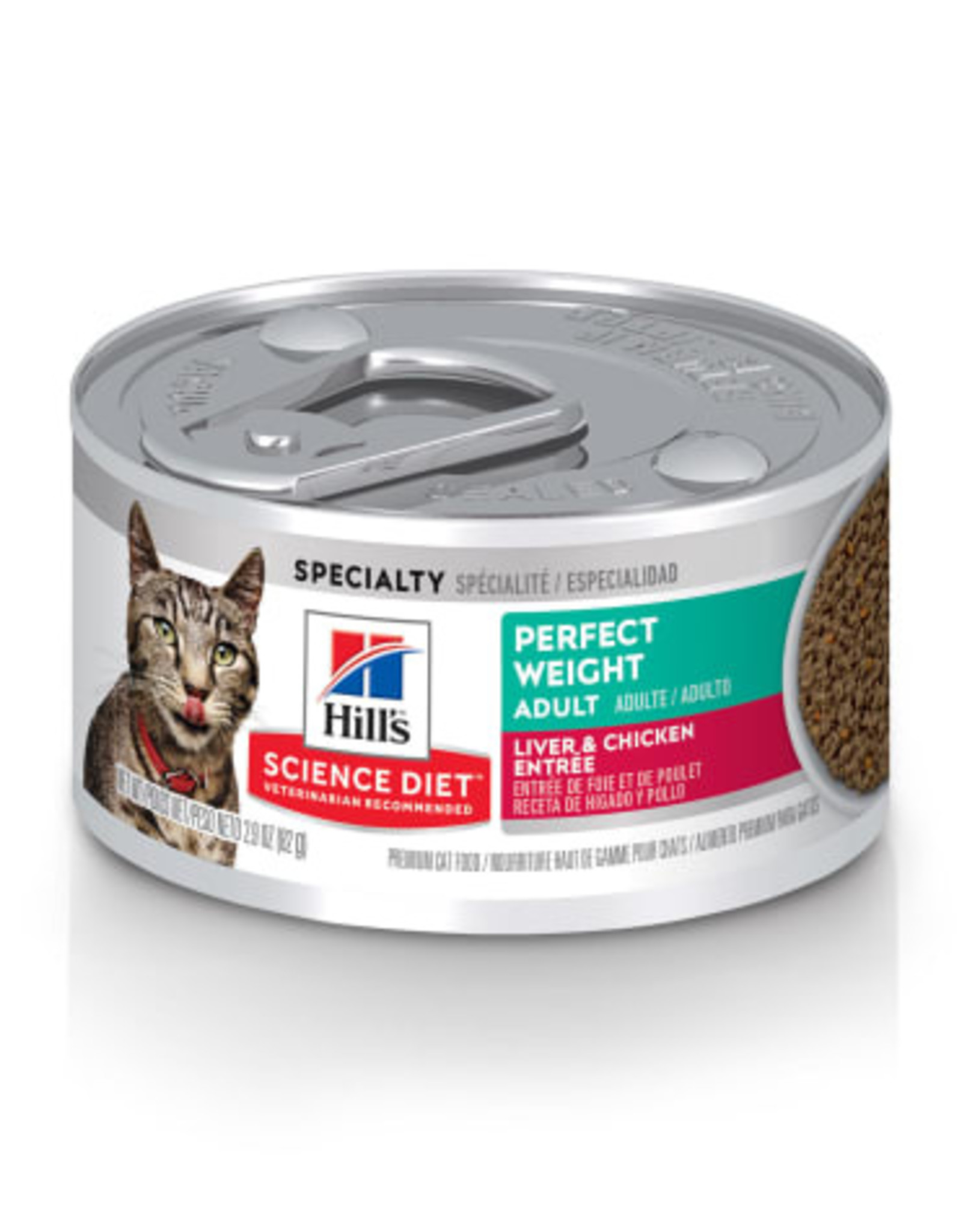 Hill's Science Diet Hill's Science Diet Feline Can Perfect Weight 82gm