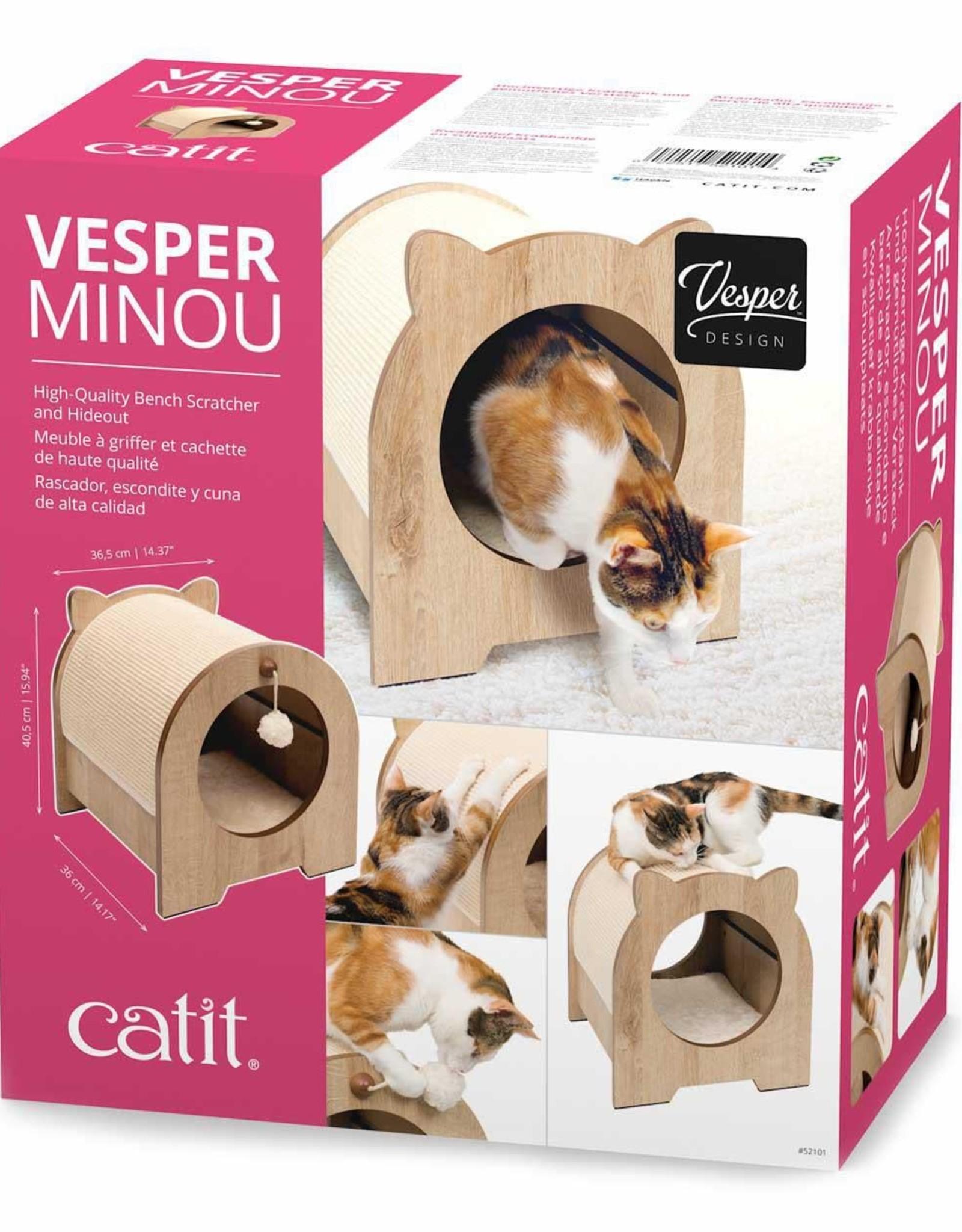 "Catit Vesper Minou Bench Scratcher 16"""