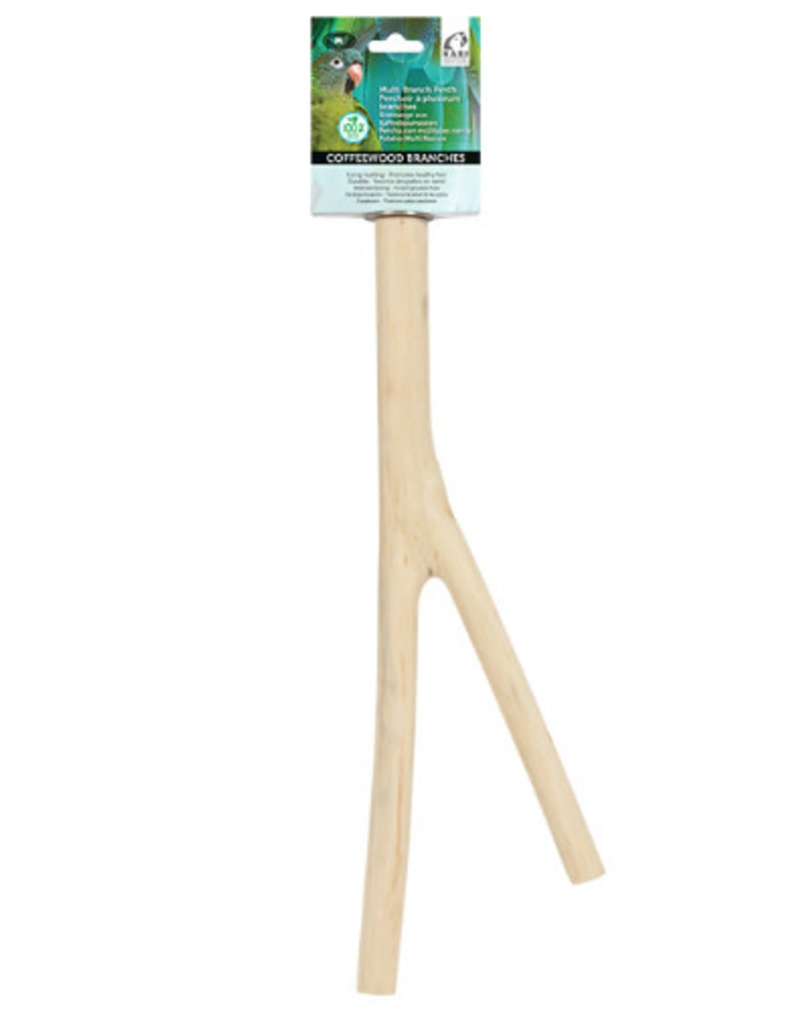 Hari Coffeewood Bird Perch Medium 81535