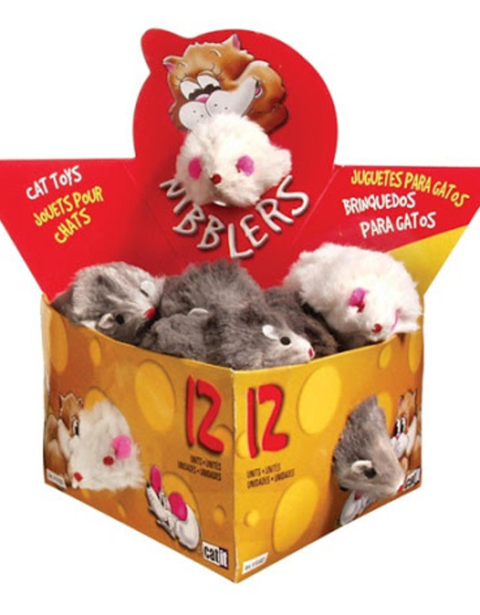 CatIt Nibblers Fur Mice Cat Toy Large