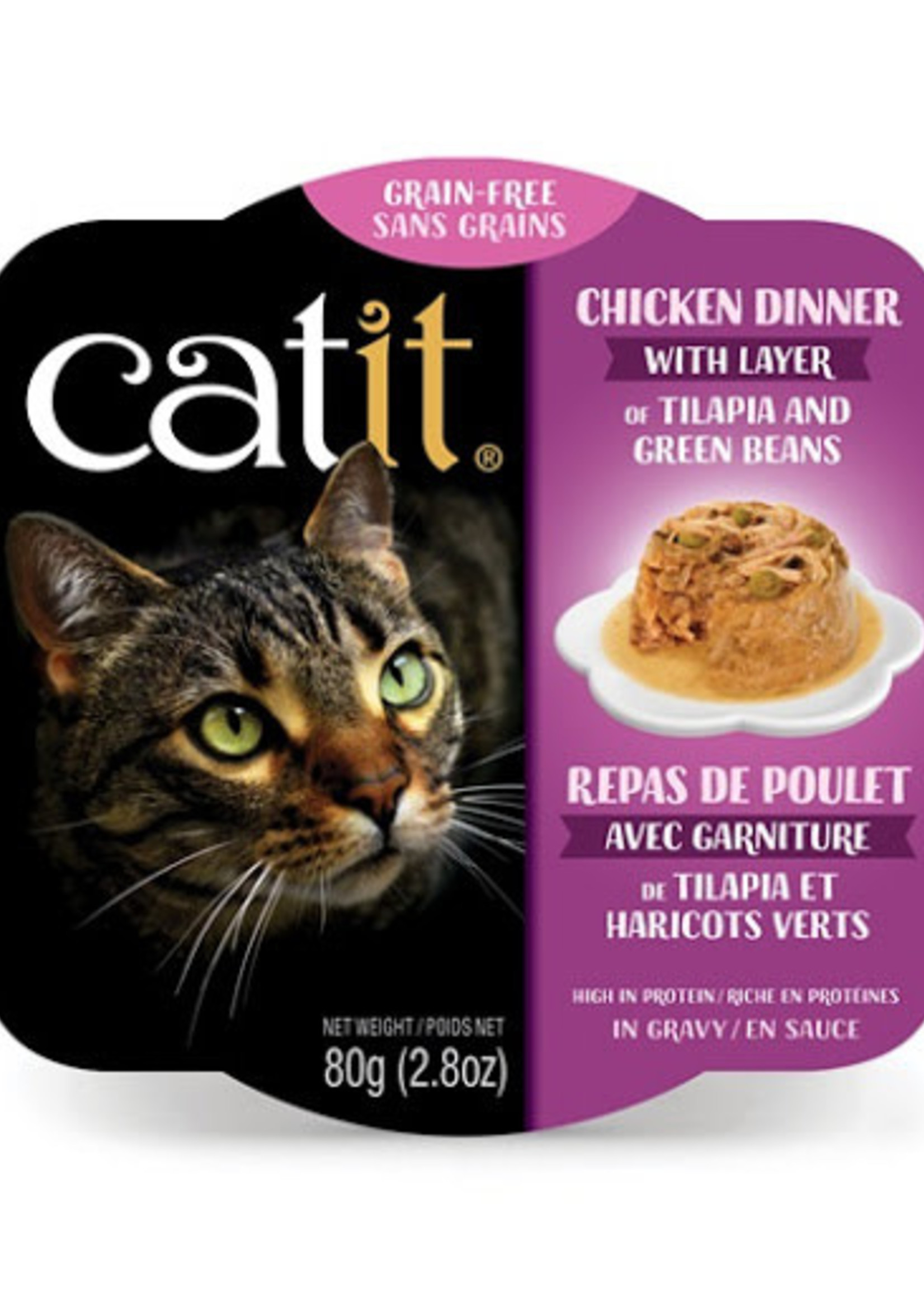 Catit Dinner Chicken with Tilapia and Green Bean