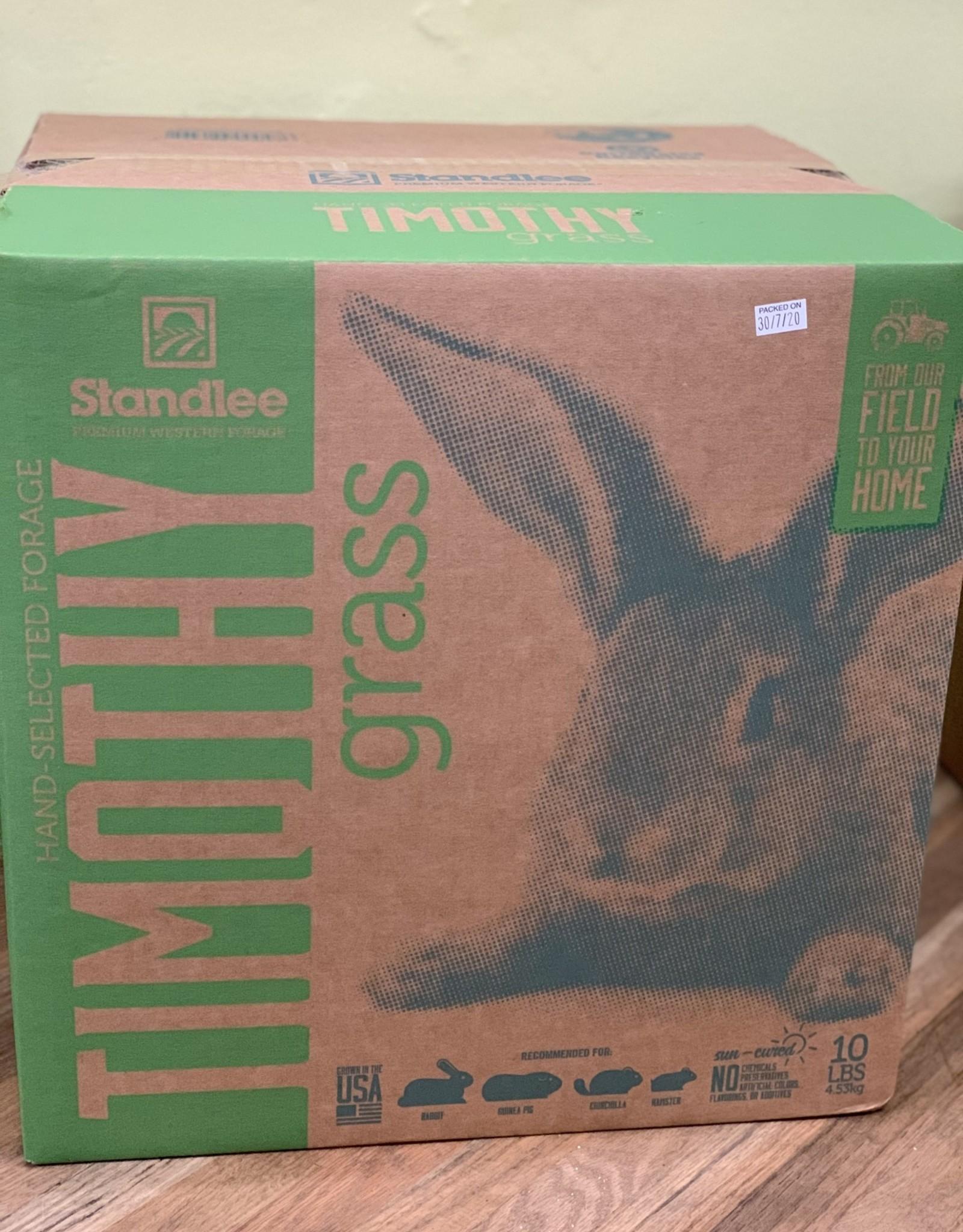Standlee Premium Western Forage Timothy Hay 10lbs Box