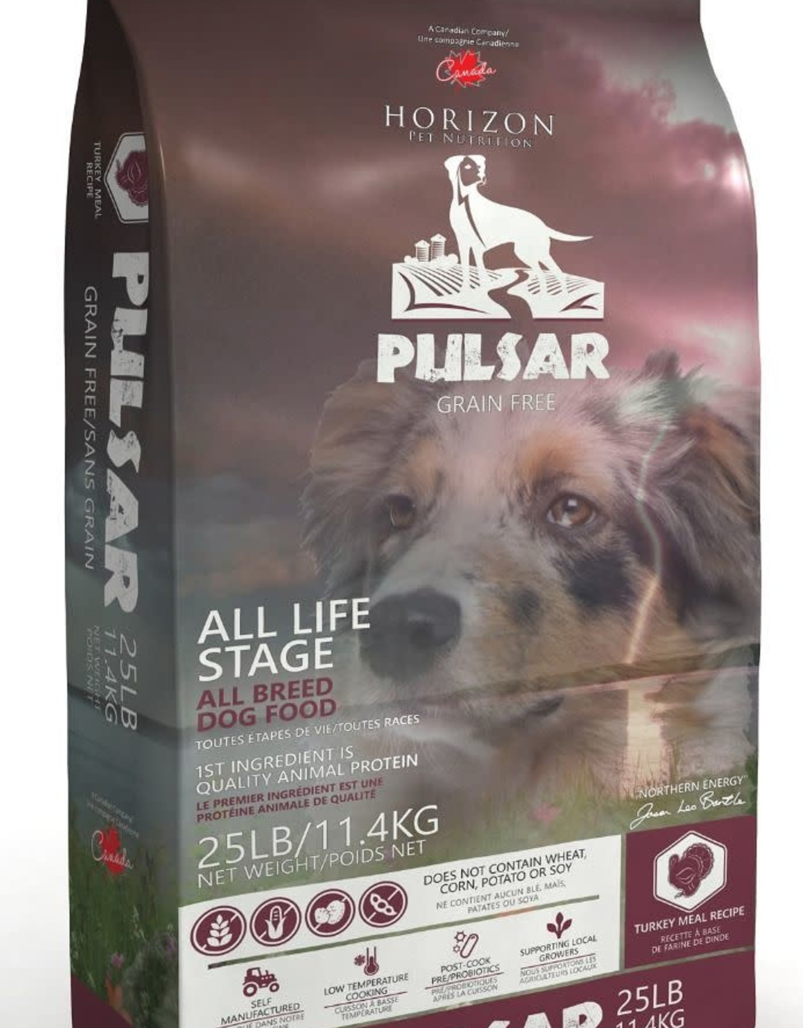 Horizon Pulsar Dog GF Turkey 11.4kg