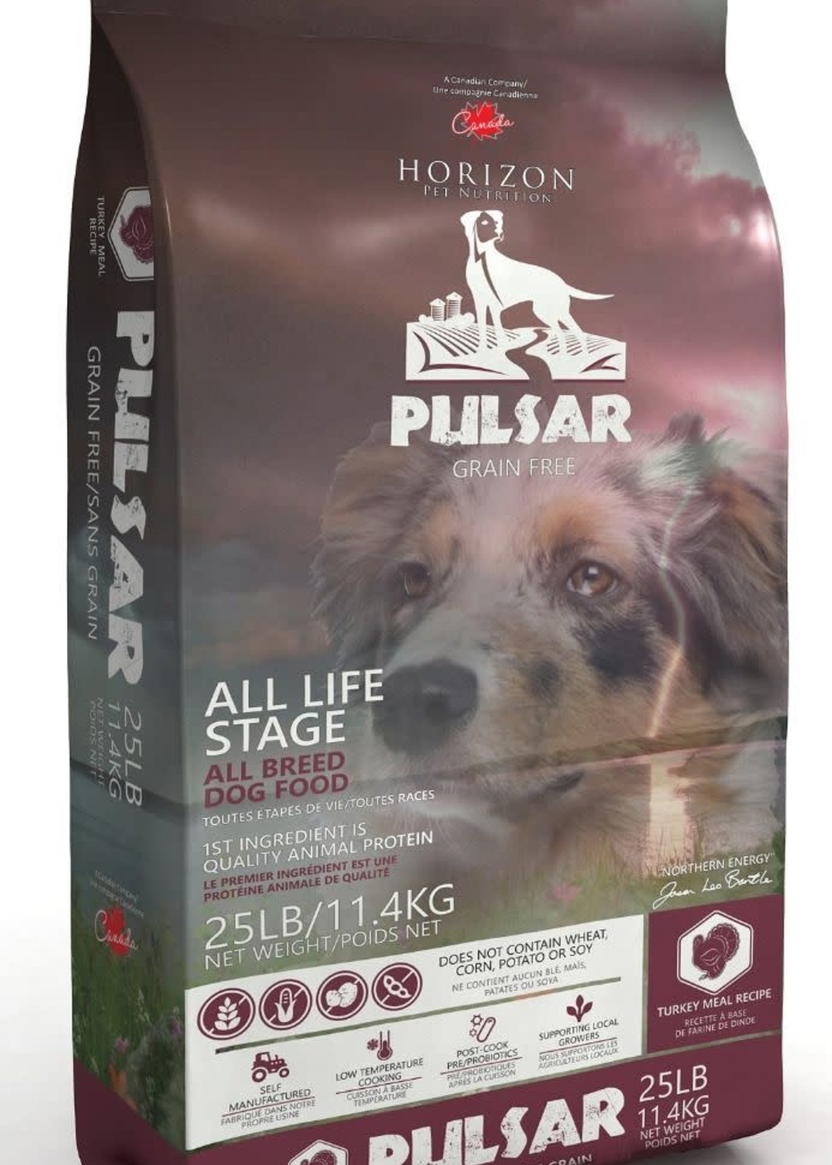 Horizon Pulsar Dog GF Turkey 11.4kg