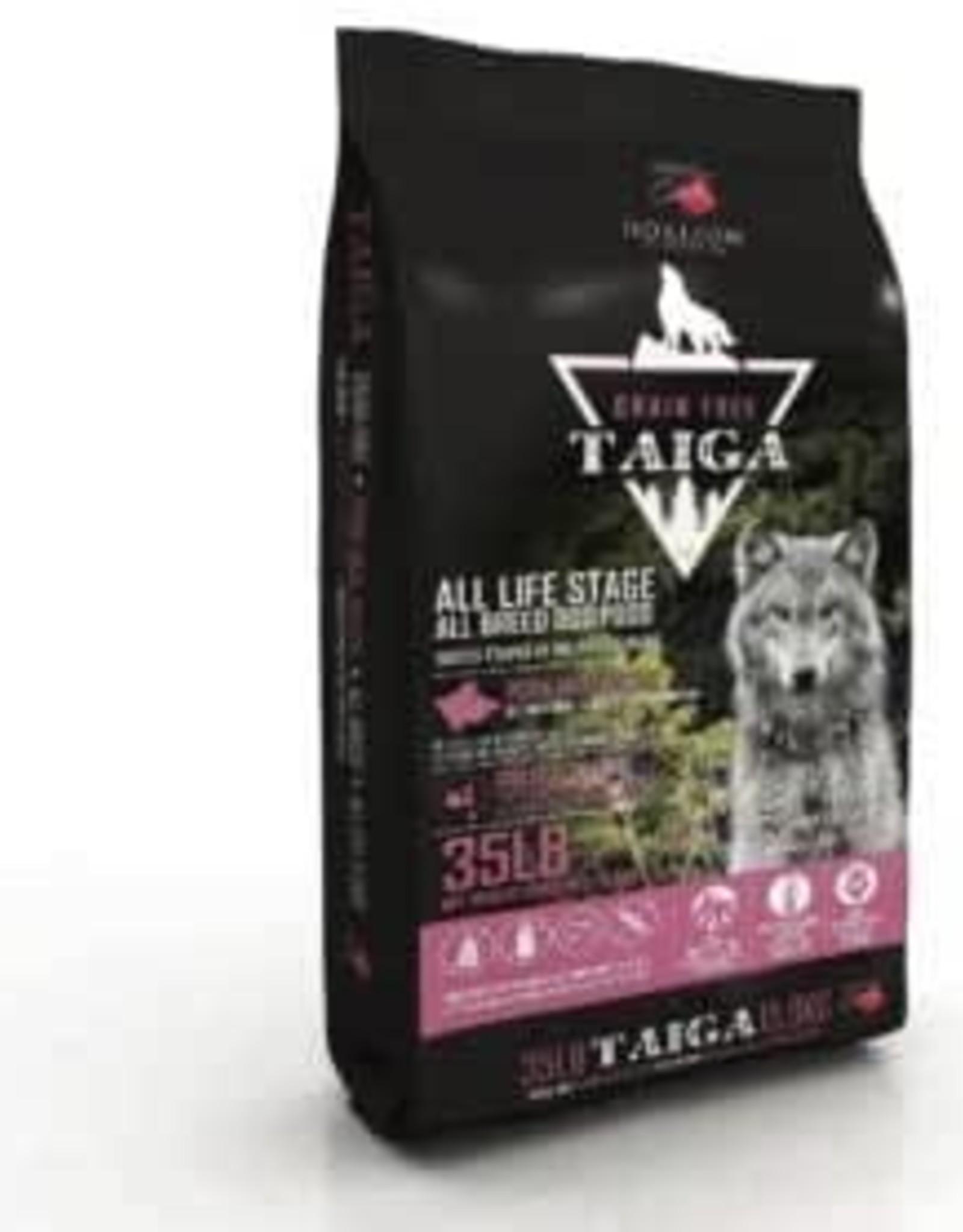 Horizon Taiga Grain Free  Pork 35 lbs